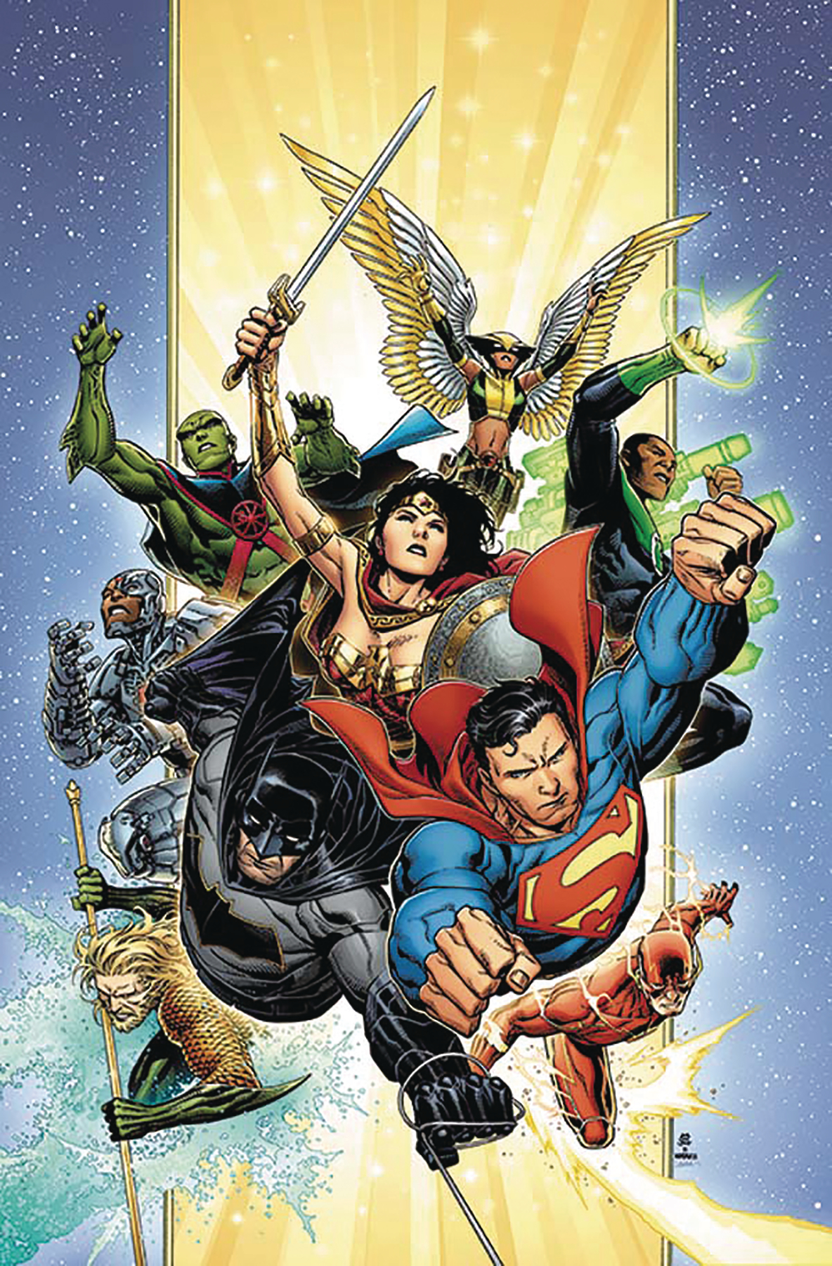 DF JUSTICE LEAGUE #1 SGN SNYDER