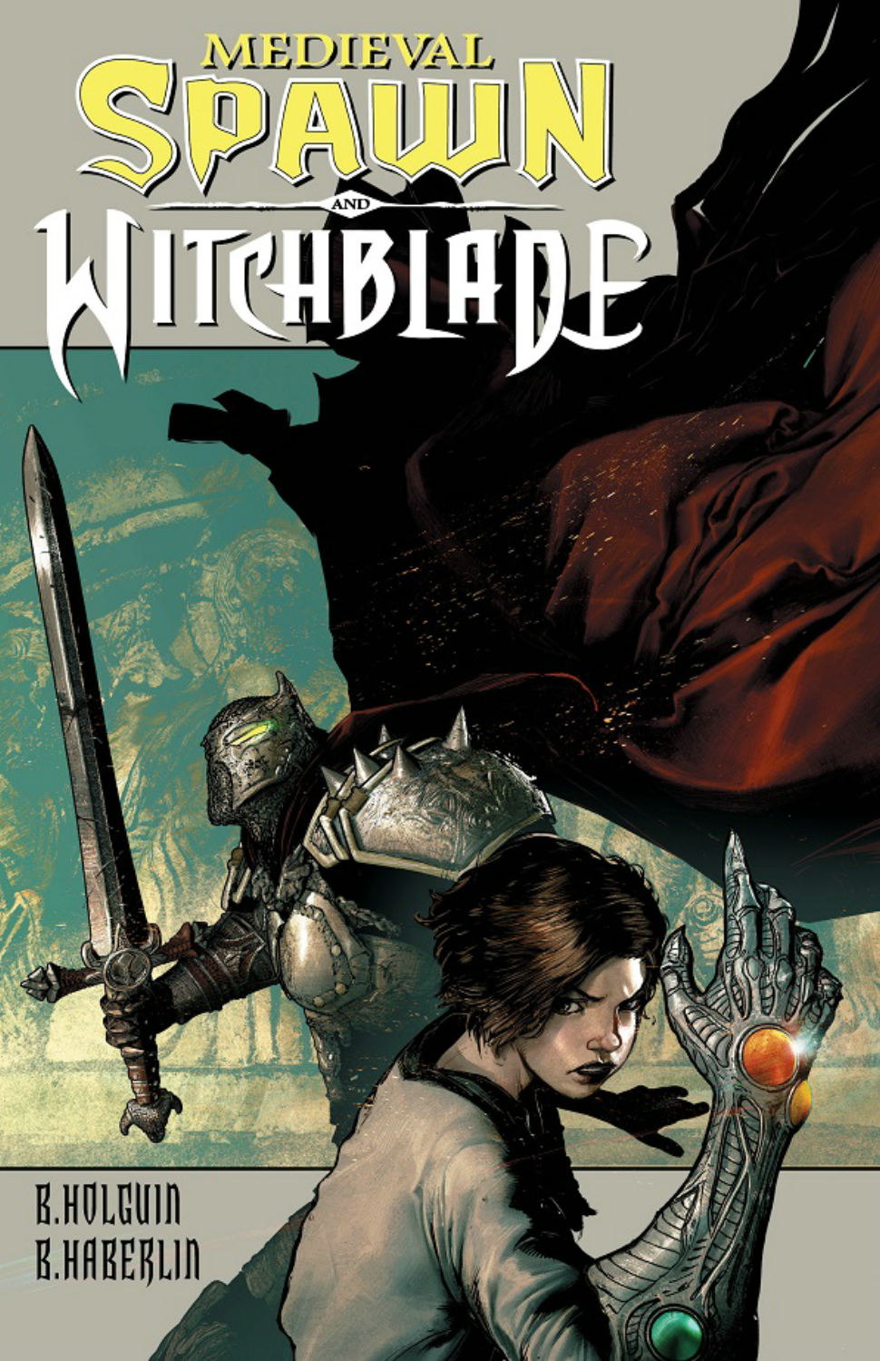 MEDIEVAL SPAWN WITCHBLADE TP VOL 01