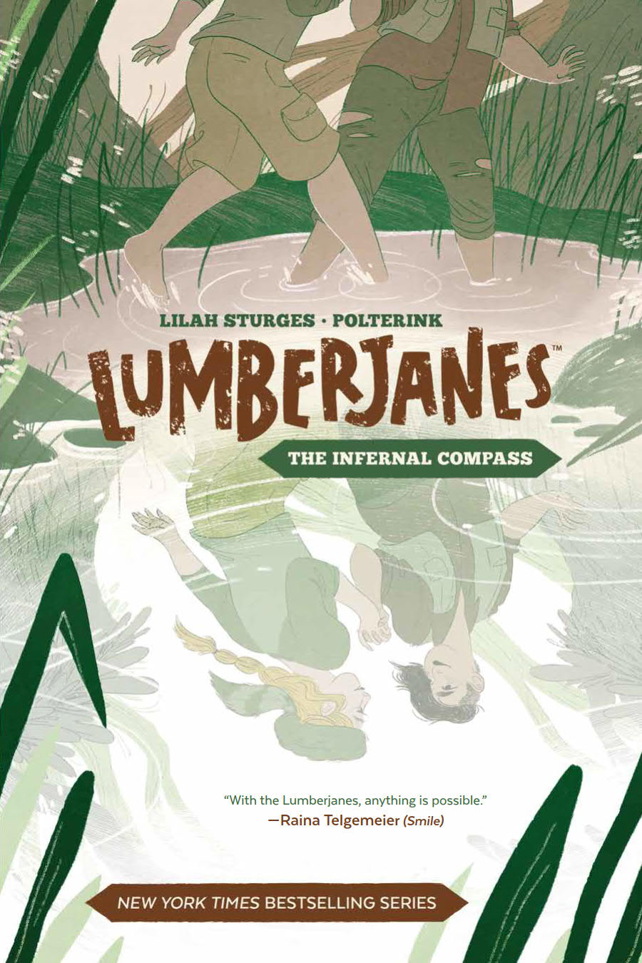 LUMBERJANES ORIGINAL GN VOL 01 INFERNAL COMPASS