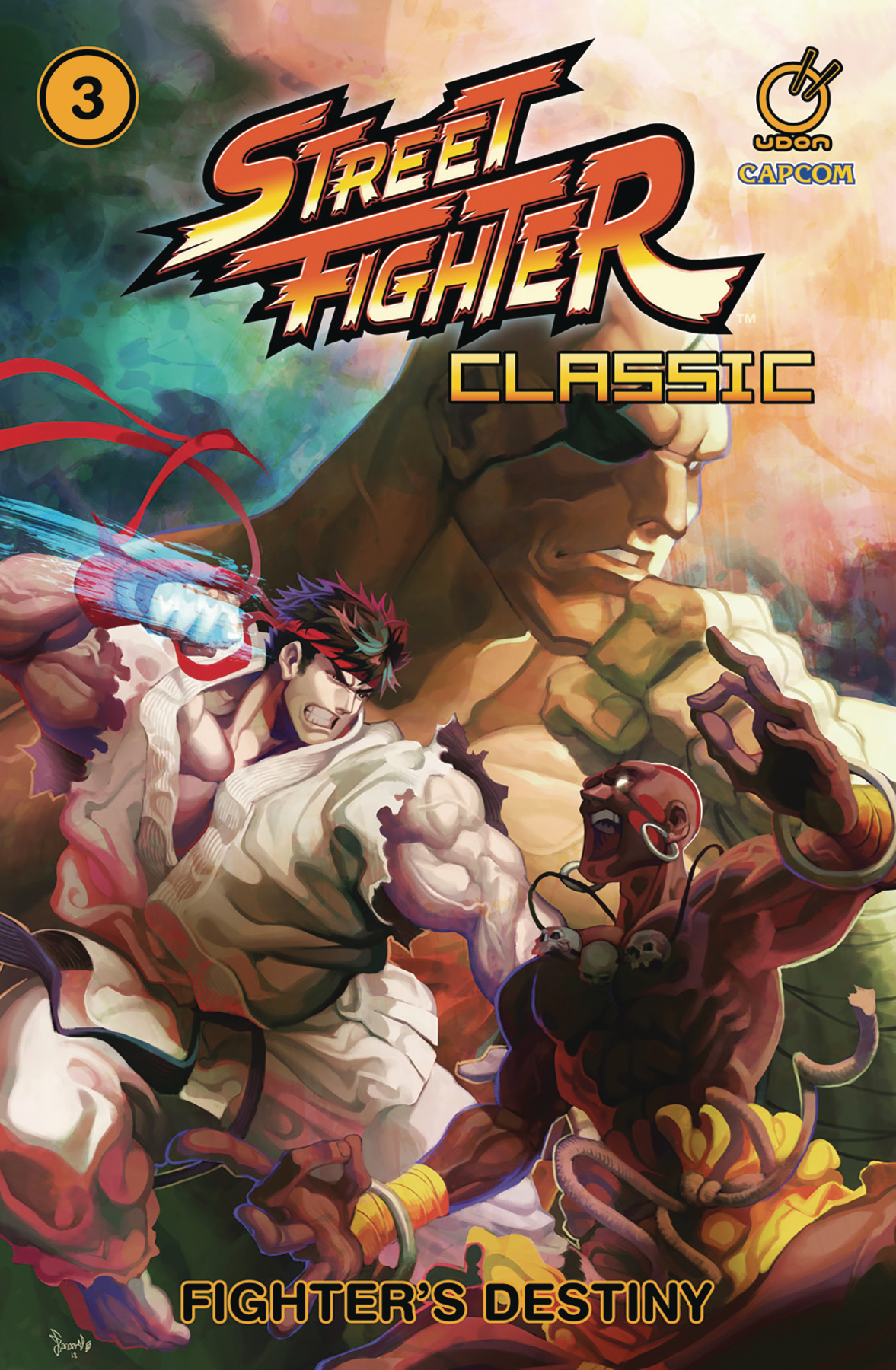 STREET FIGHTER CLASSIC TP VOL 03 FIGHTERS DESTINY