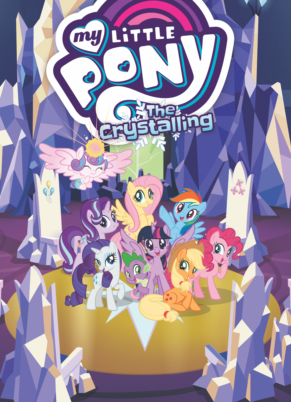 MY LITTLE PONY TP VOL 11 THE CRYSTALLING