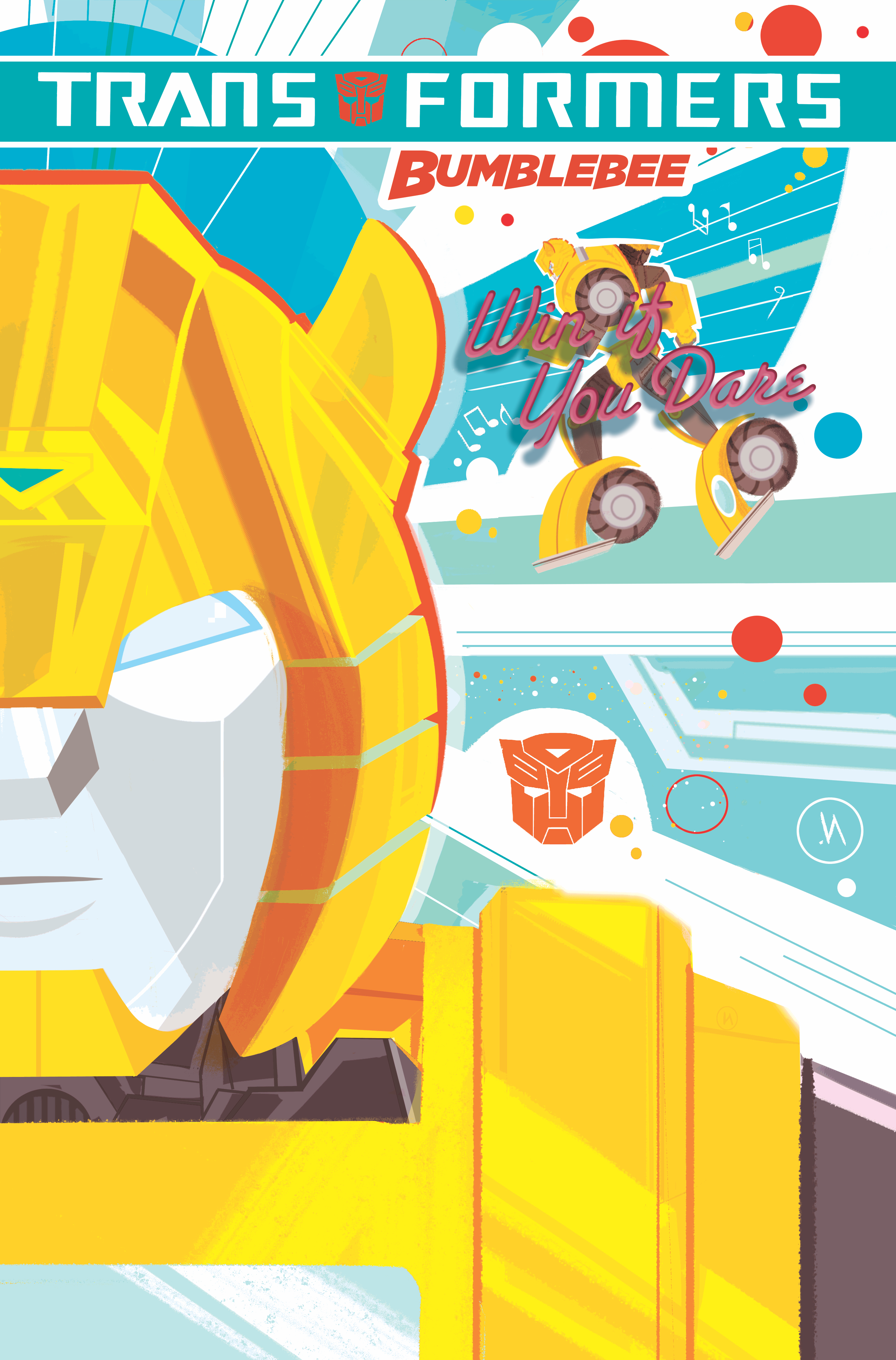 TRANSFORMERS BUMBLEBEE WIN IF YOU DARE TP