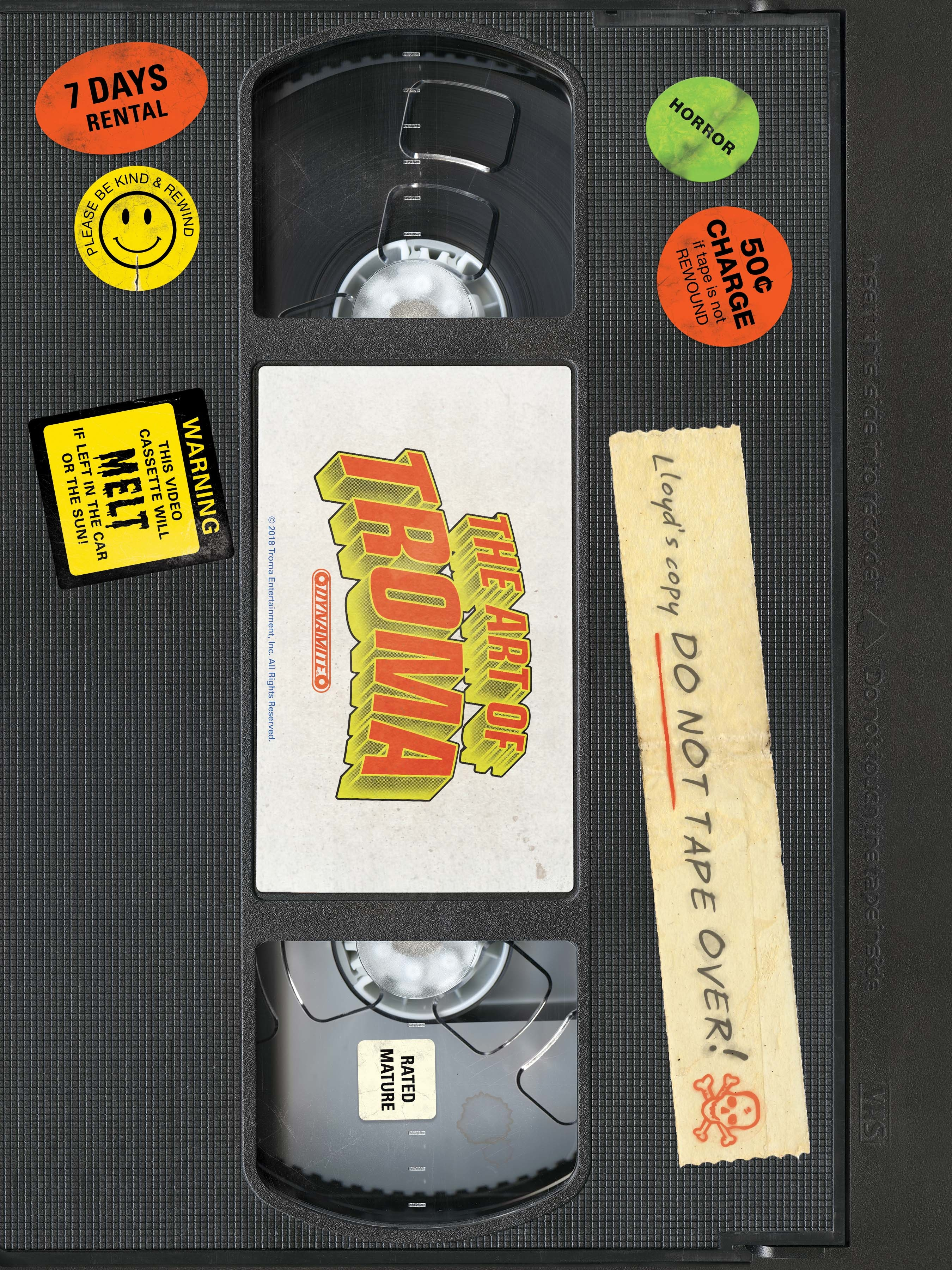 ART OF TROMA HC (MR)
