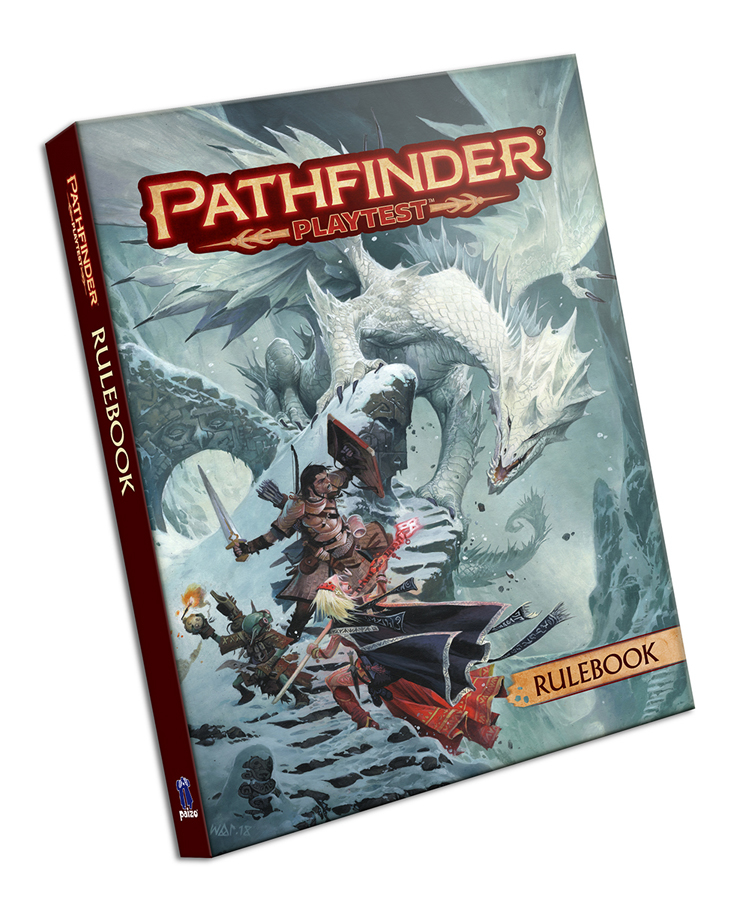 PATHFINDER PLAYTEST RULEBOOK HC