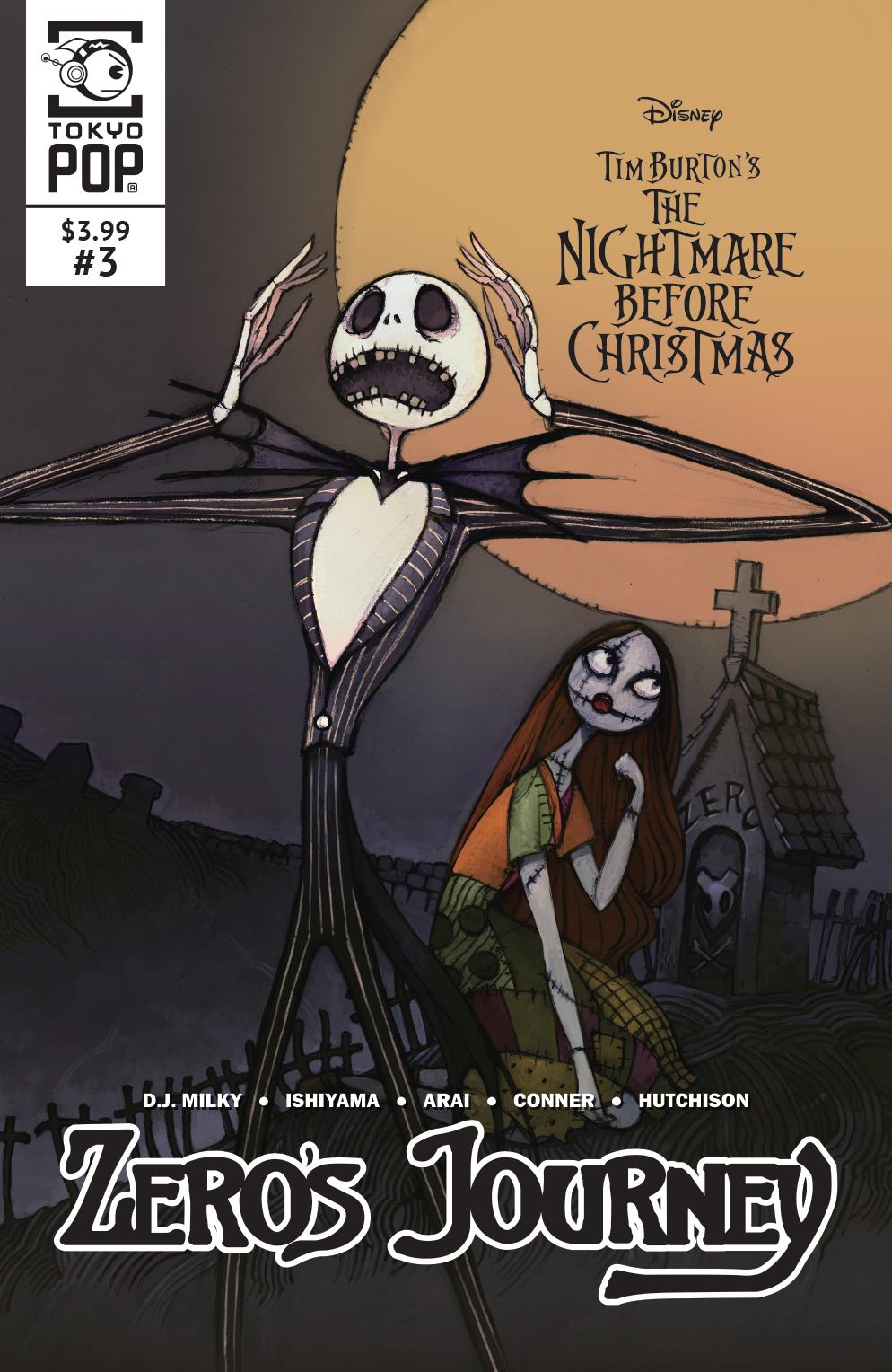 MAY182151 - NIGHTMARE BEFORE CHRISTMAS ZEROS JOURNEY #3 - Previews World