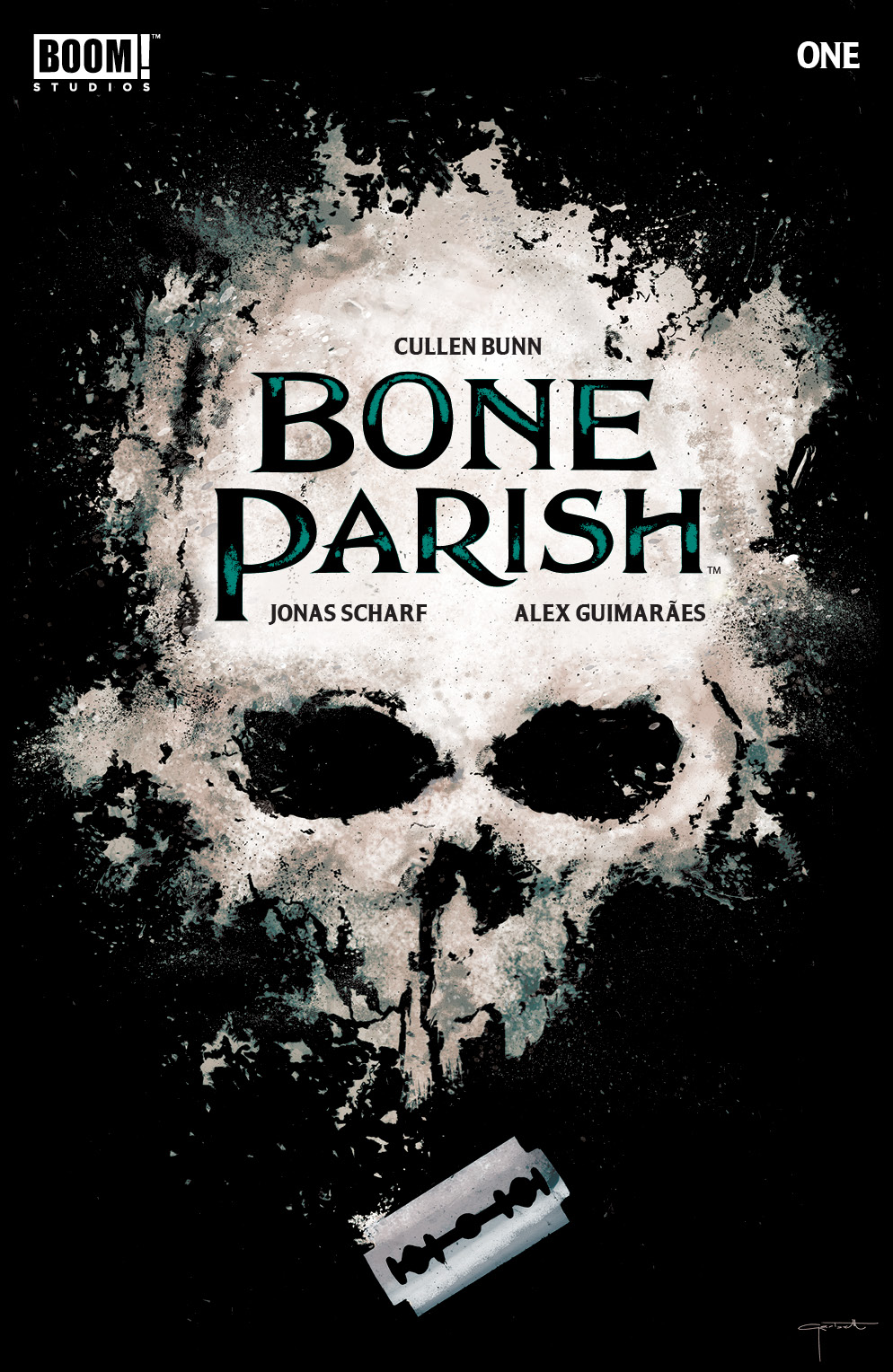 BONE PARISH #1 CVR A GARBETT