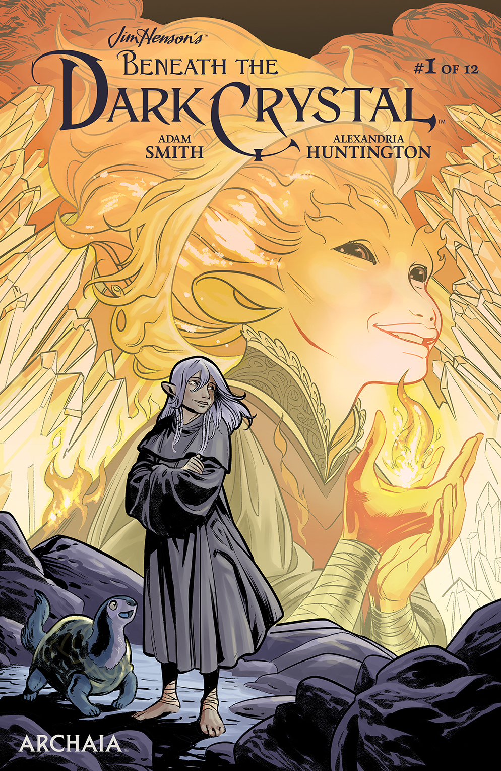 JIM HENSON BENEATH DARK CRYSTAL #1 (OF 12) MAIN CVR DEWEY
