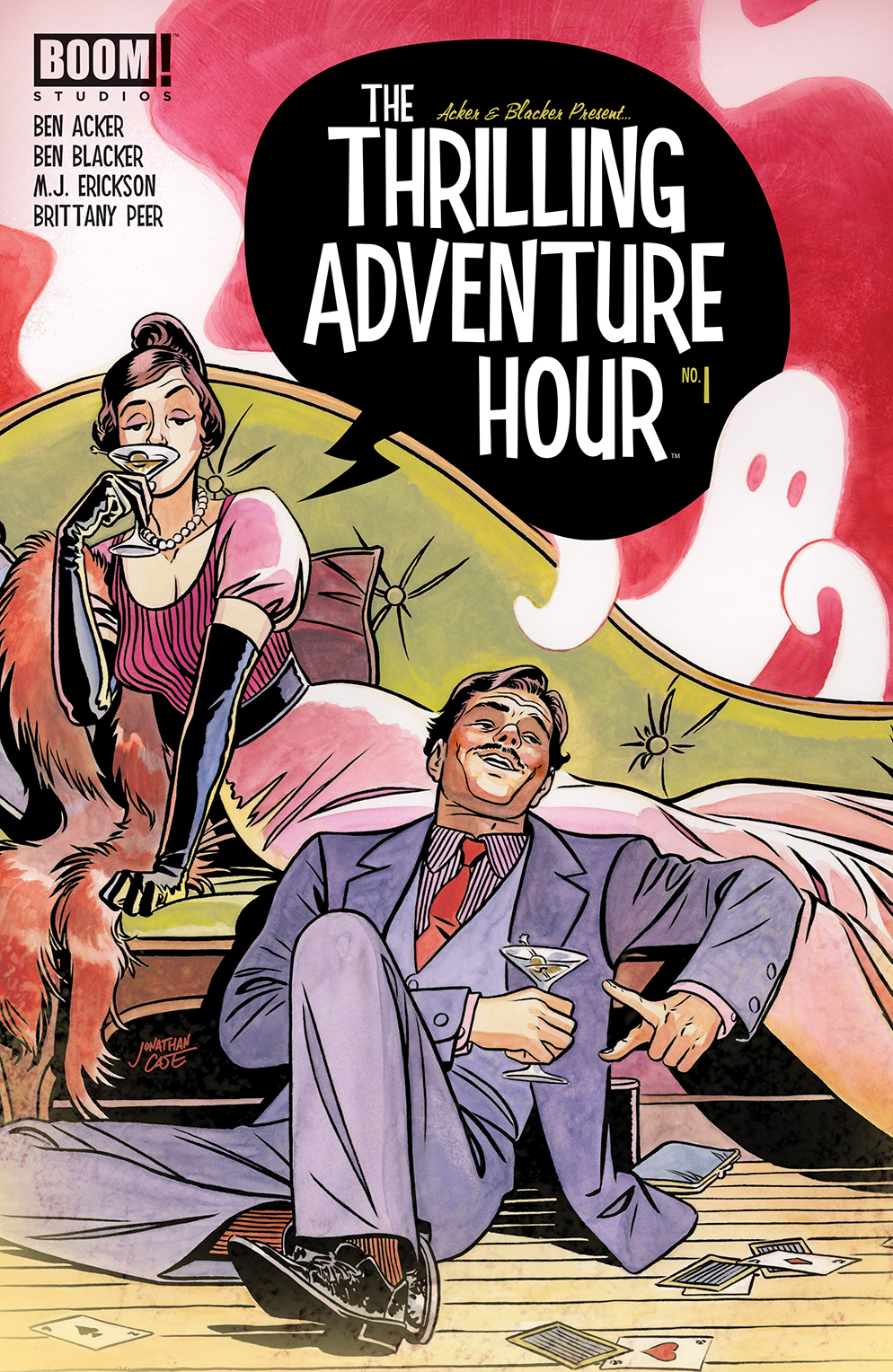 THRILLING ADVENTURE HOUR #1 (OF 4) CVR A CASE