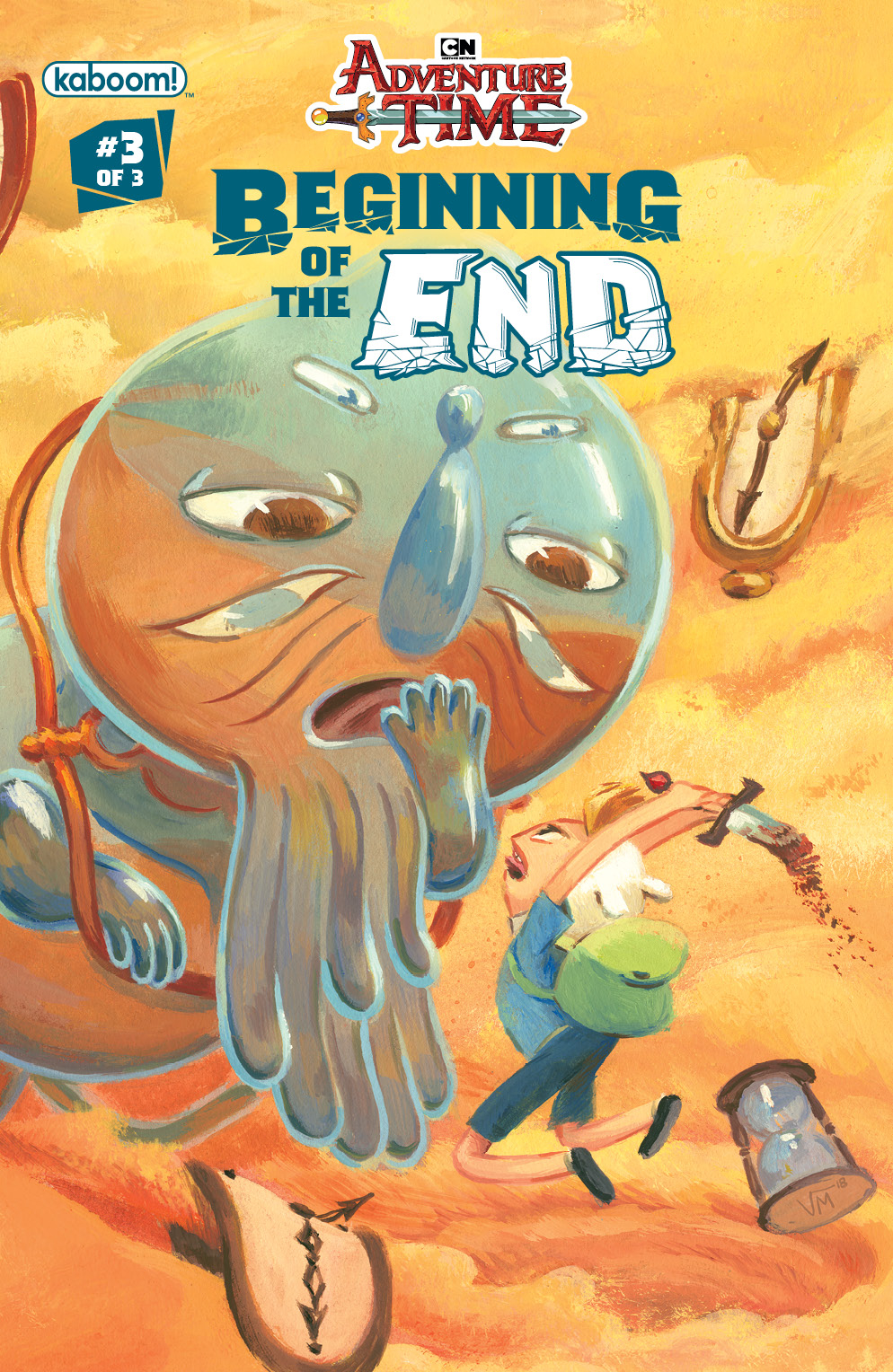 ADVENTURE TIME BEGINNING OF END #3