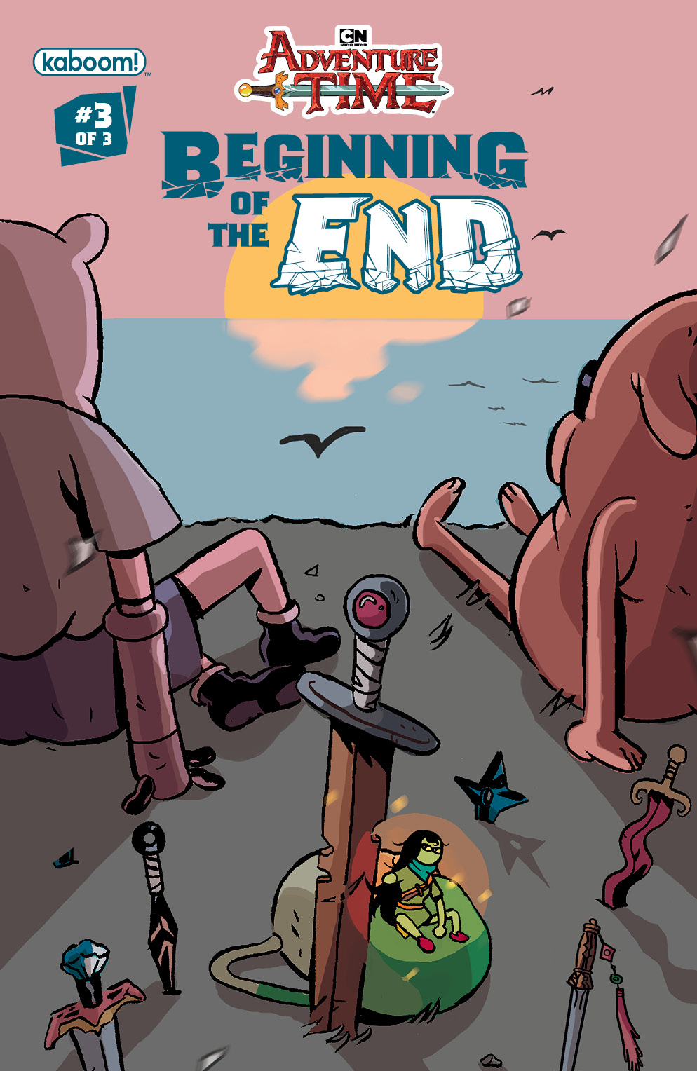 ADVENTURE TIME BEGINNING OF END #3 SUBSCRIPTION DAGUNA VAR