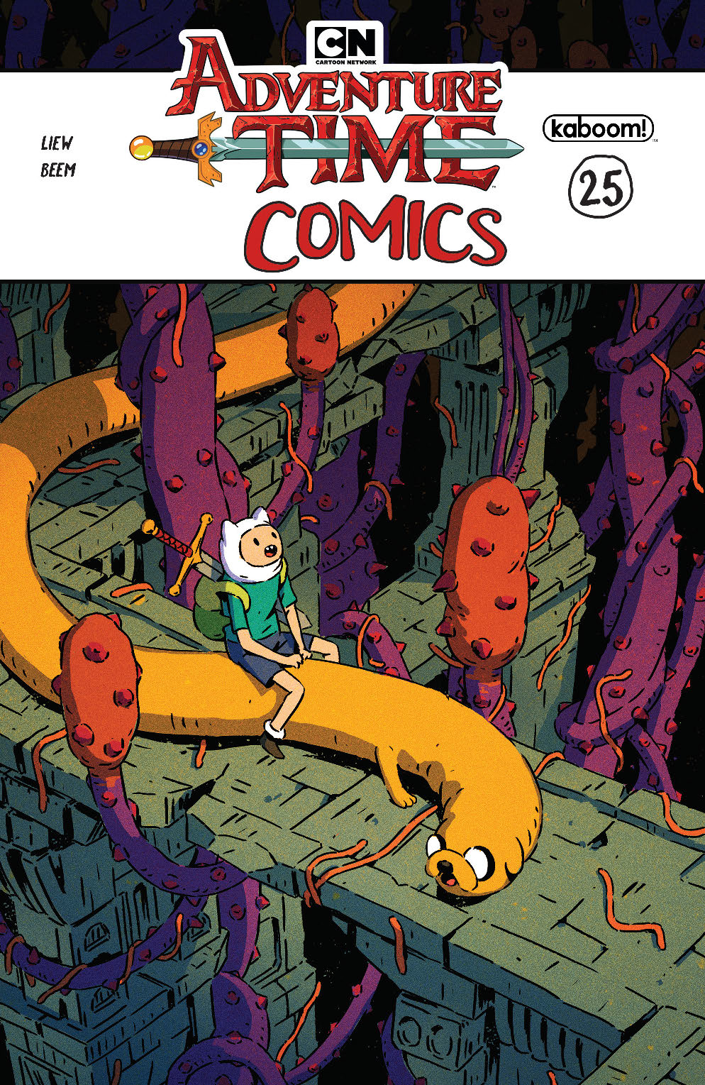 ADVENTURE TIME COMICS #25 SUBSCRIPTION BAK VAR