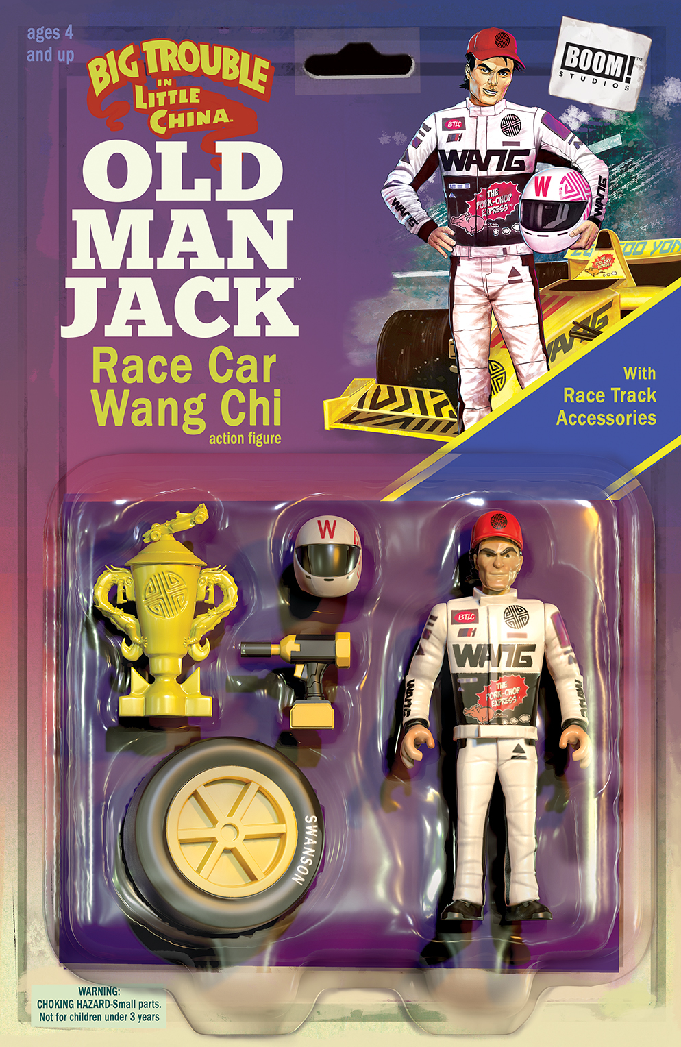 BIG TROUBLE IN LITTLE CHINA OLD MAN JACK #11 SUBSCRIPTION AC