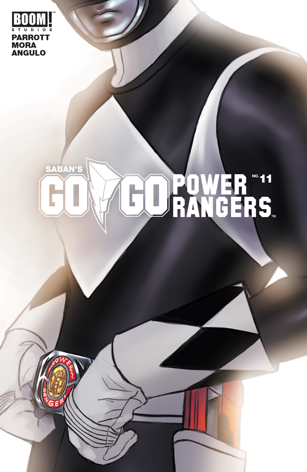 GO GO POWER RANGERS #11 MAIN & MIX SG