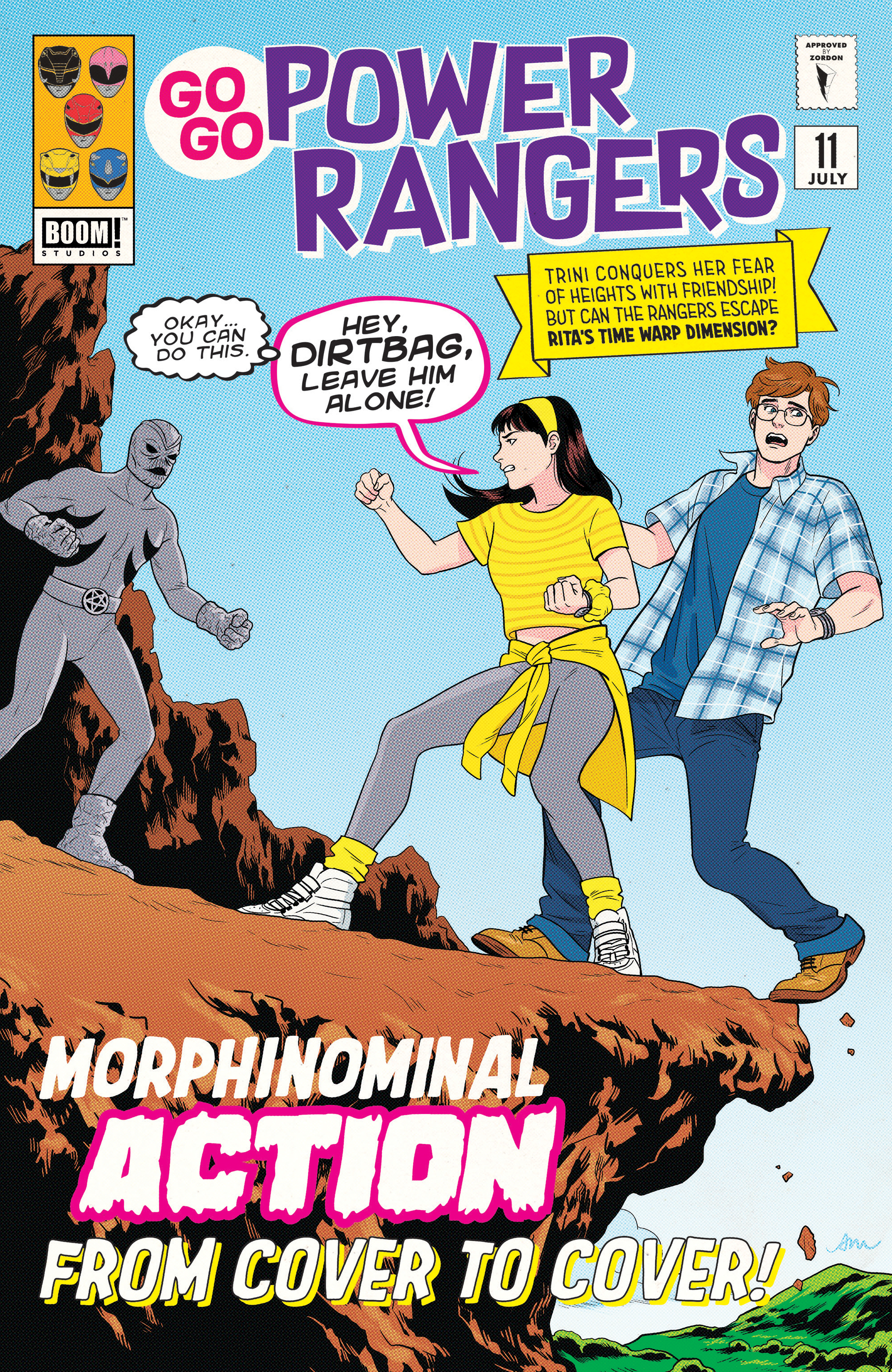 GO GO POWER RANGERS #11 SUBSCRIPTION MOK VAR SG