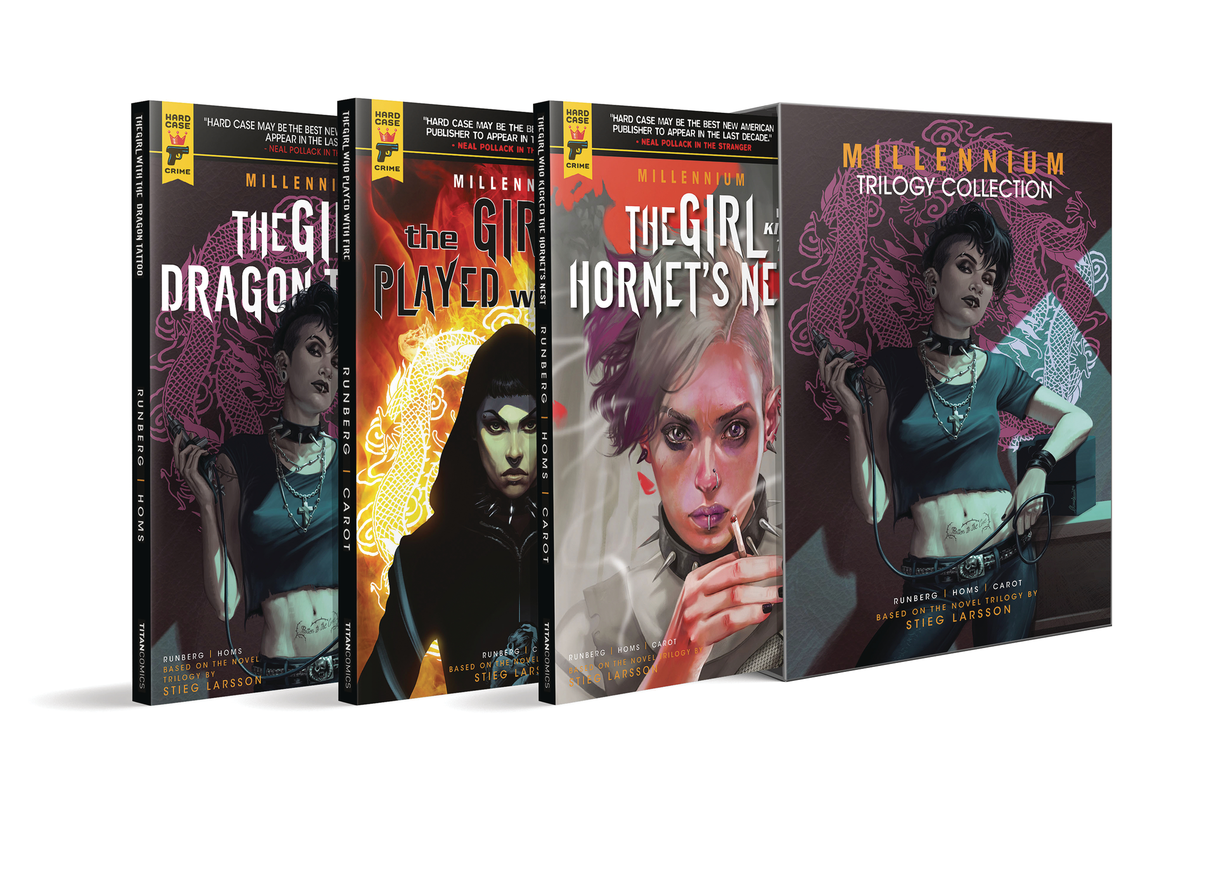 MILLENNIUM TRILOGY BOX SET