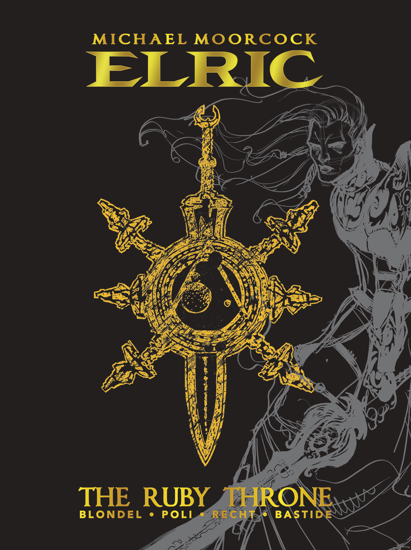 ELRIC RUBY THRONE DLX ED HC
