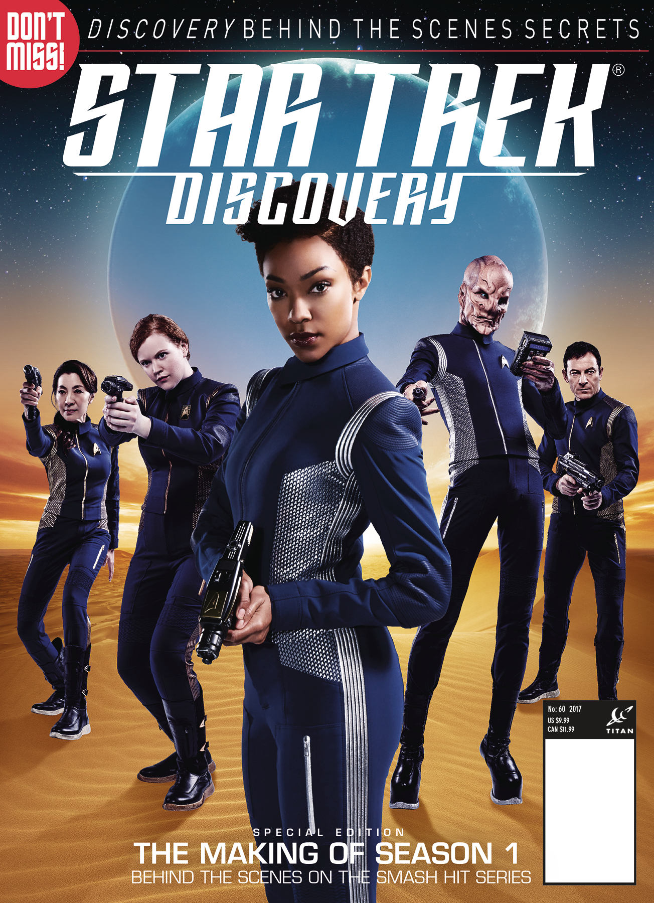 STAR TREK DISCOVERY MAG SPECIAL VOL 2 NEWSTAND ED