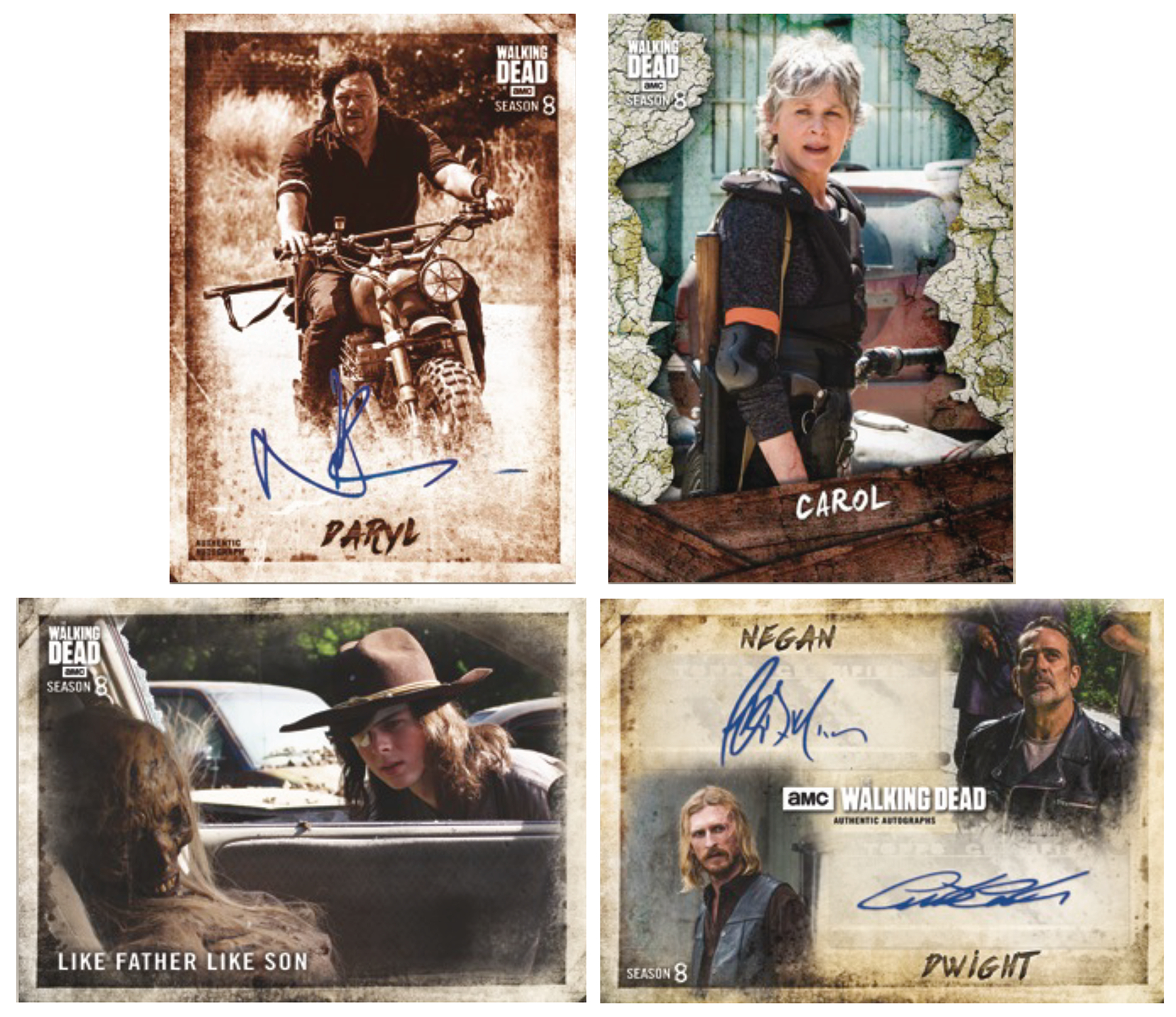 TOPPS 2018 WALKING DEAD SEASON 8 T/C BOX