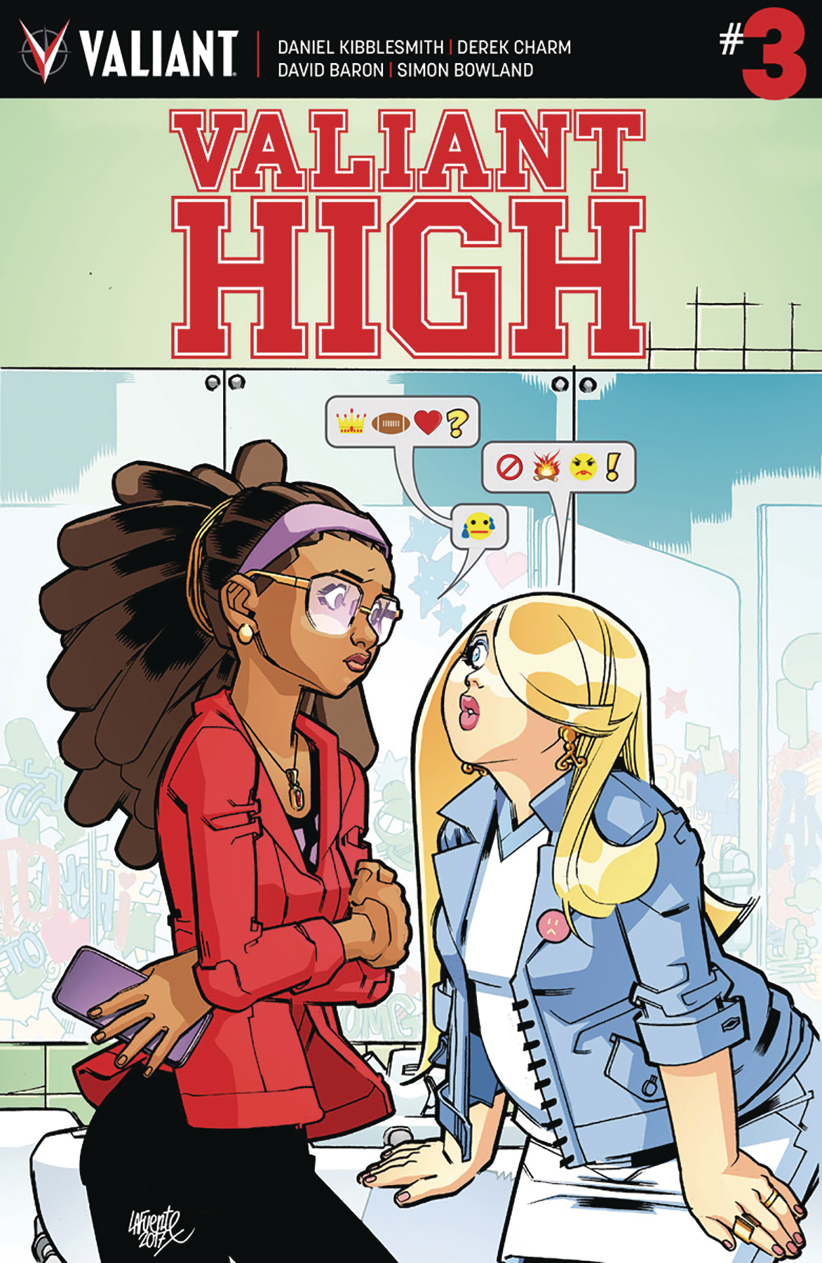 VALIANT HIGH #3 (OF 4) CVR A LAFUENTE