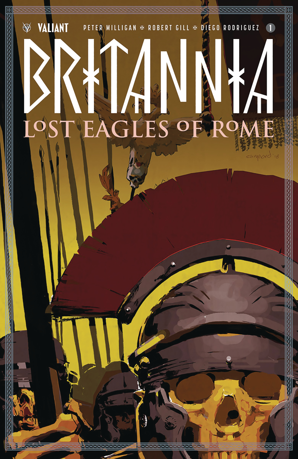 BRITANNIA LOST EAGLES OF ROME #1 (OF 4) CVR A NORD