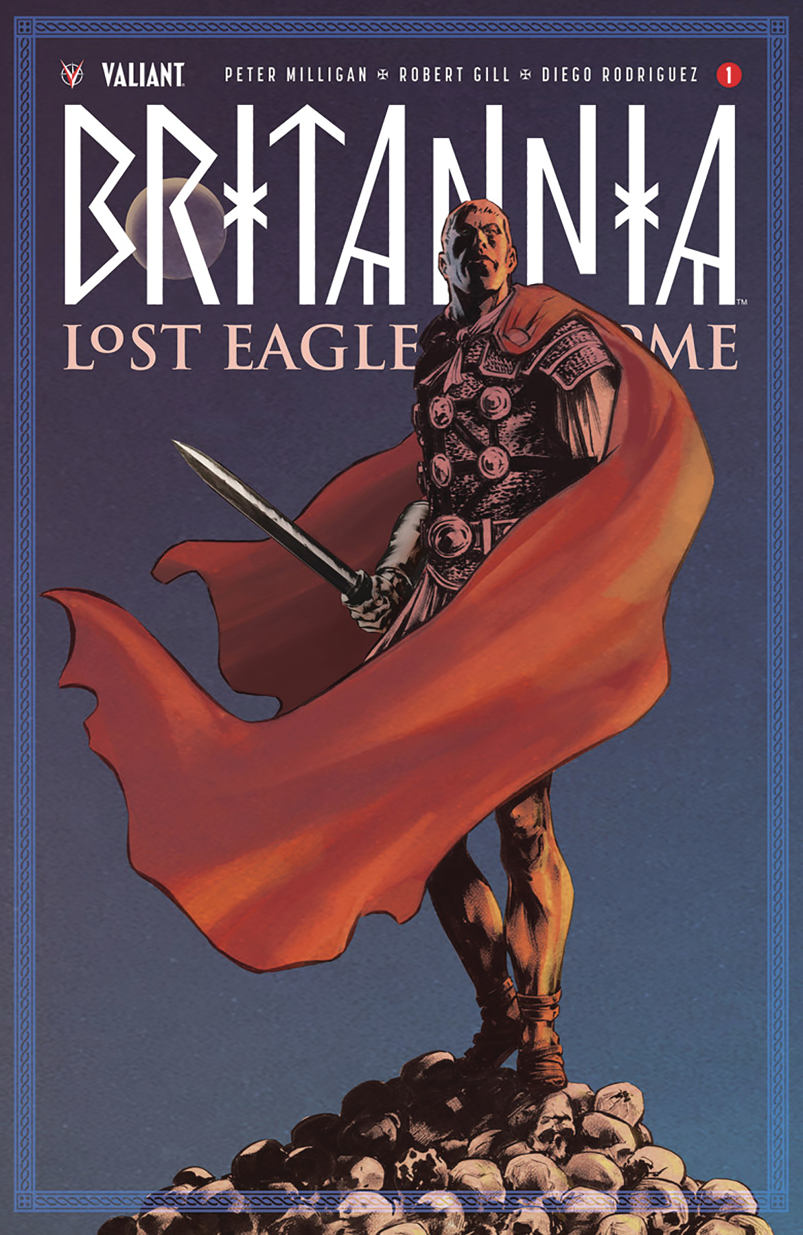 BRITANNIA LOST EAGLES OF ROME #1 (OF 4) CVR B THIES