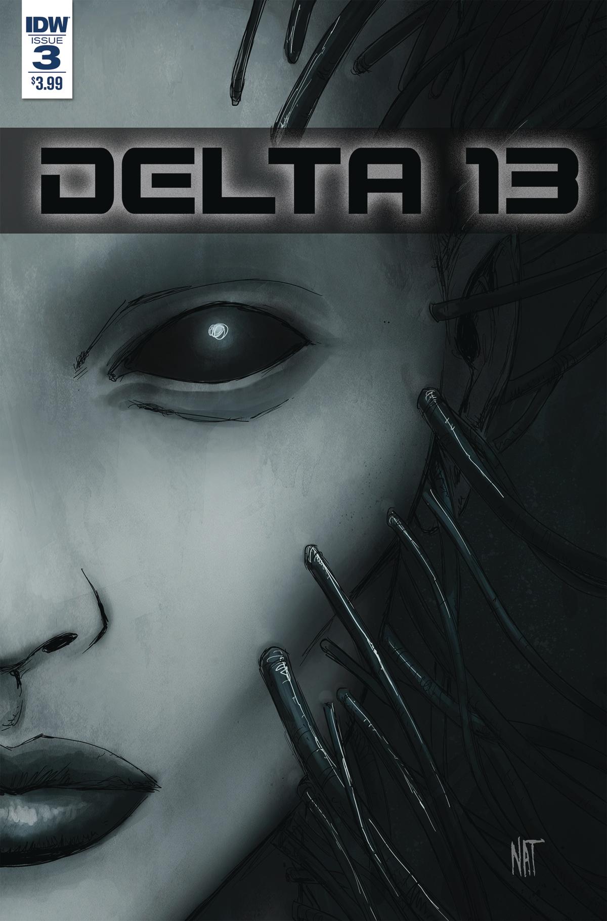 DELTA 13 #3 CVR A JONES