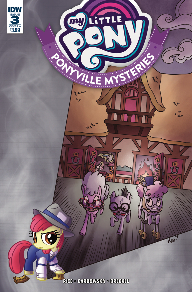 MY LITTLE PONY PONYVILLE MYSTERIES #3 CVR A GARBOWSKA