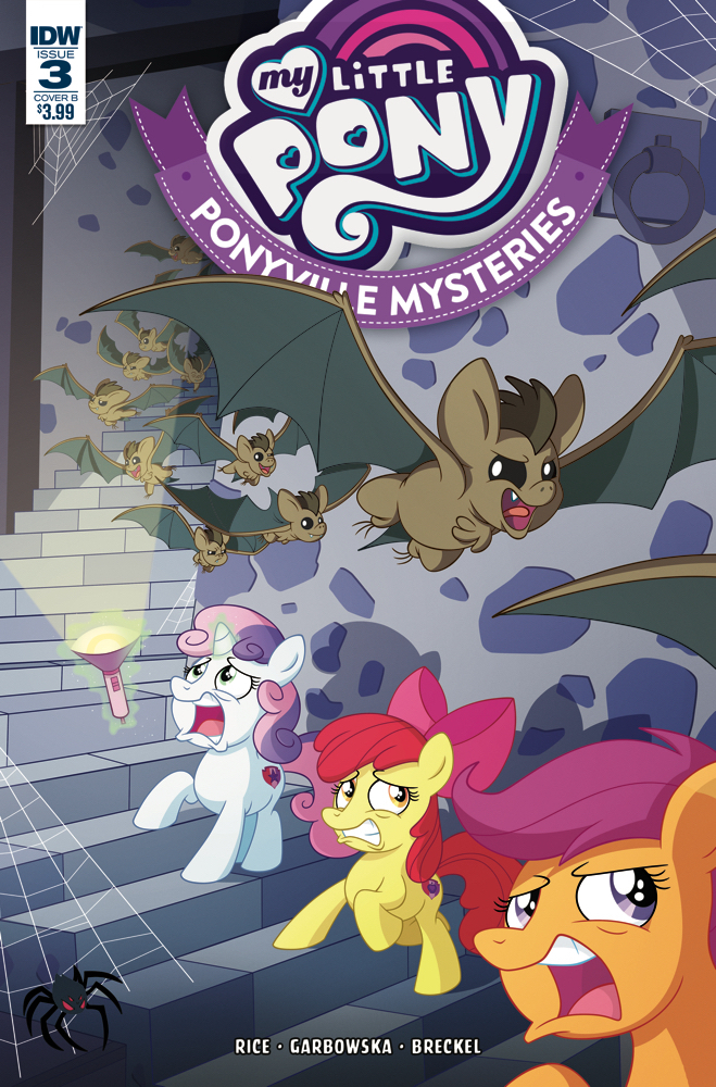 MY LITTLE PONY PONYVILLE MYSTERIES #3 CVR B MURPHY