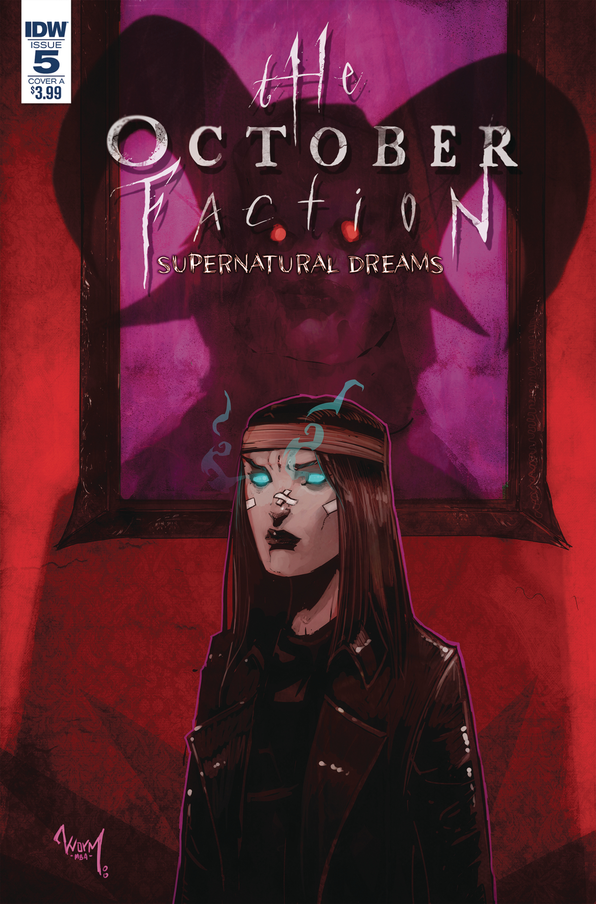 OCTOBER FACTION SUPERNATURAL DREAMS #5 CVR A WORM