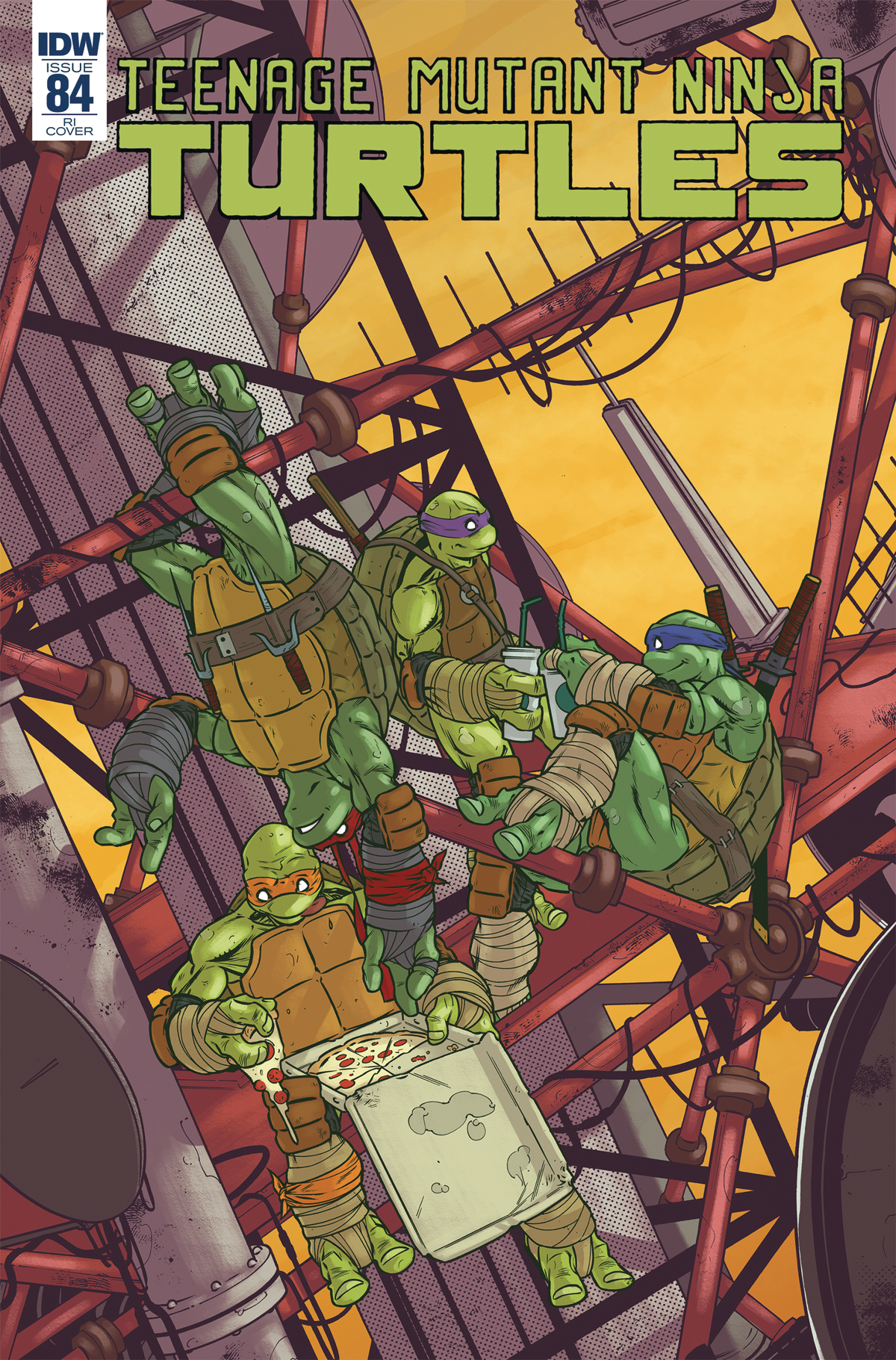 TMNT ONGOING #84 10 COPY INCV PASTA