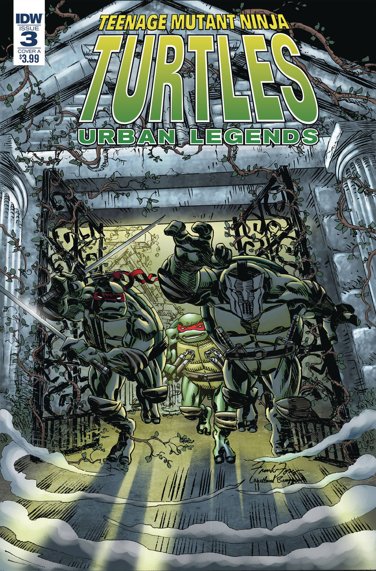 TMNT URBAN LEGENDS #3 CVR A FOSCO