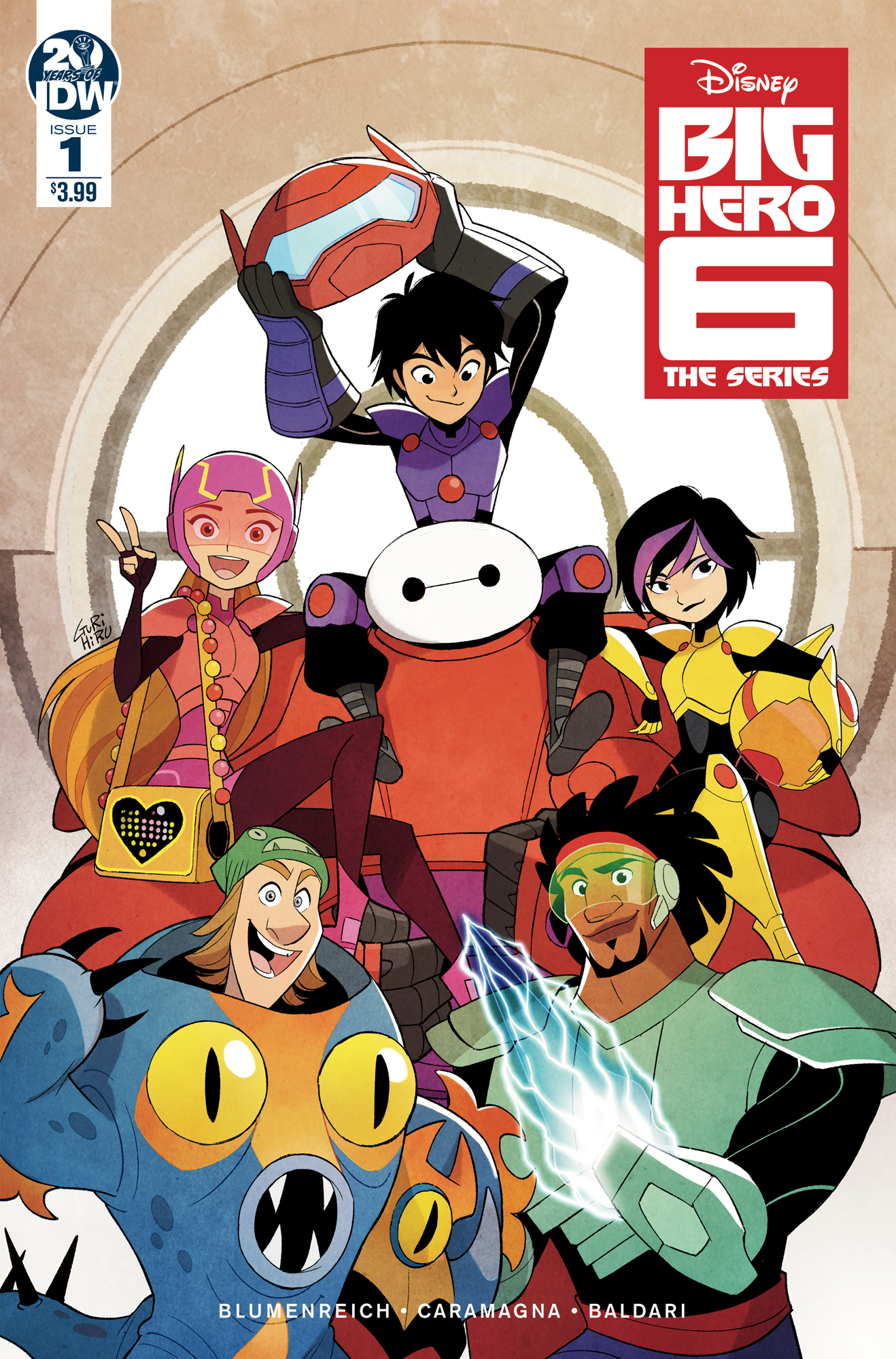 BIG HERO 6 THE SERIES #1 CVR A GURIHIRU (RES)