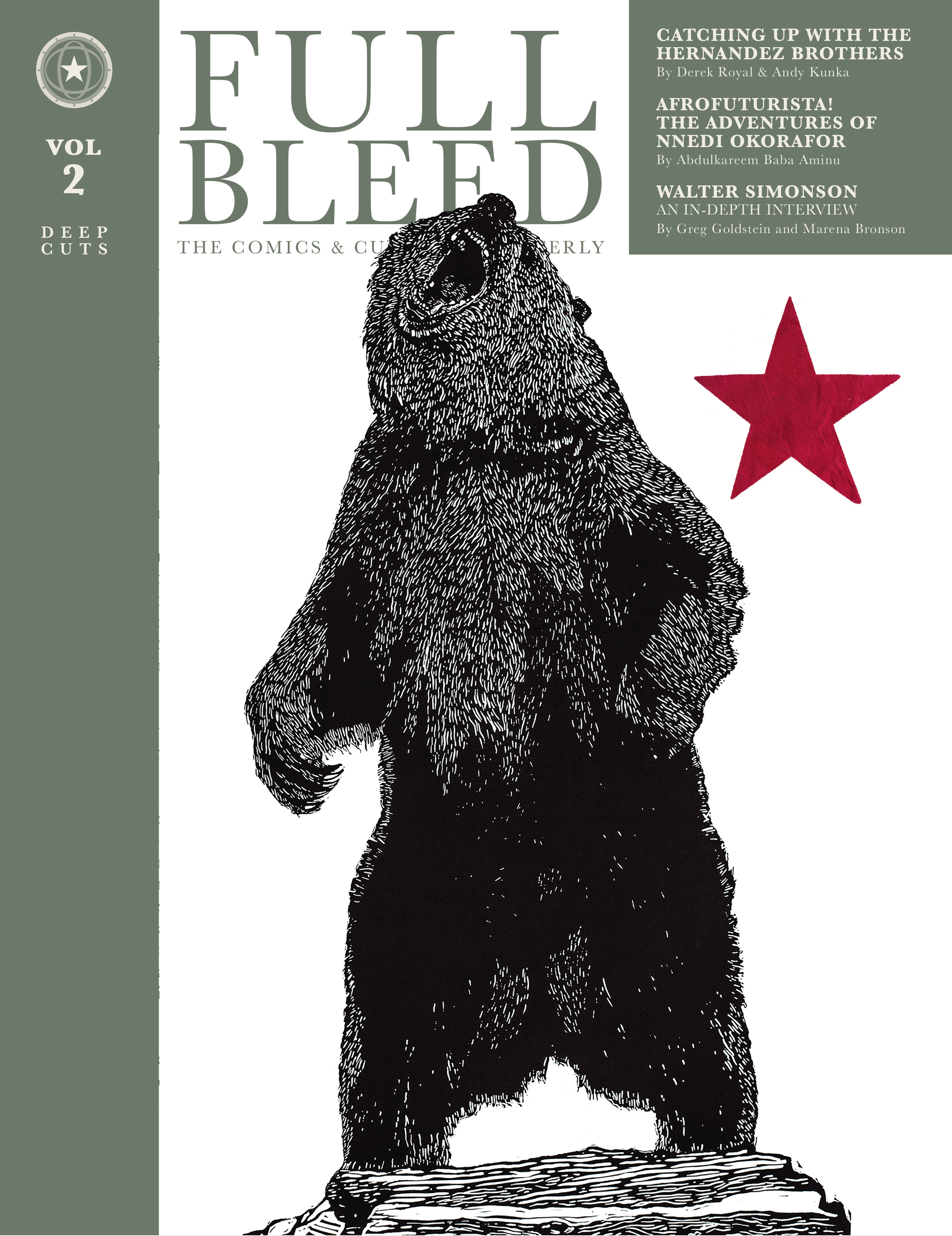 FULL BLEED COMICS & CULTURE QUARTERLY HC VOL 02