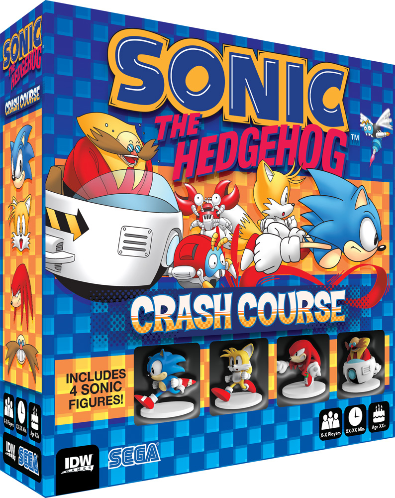 SONIC HEDGEHOG CRASH COURSE BOARDGAME