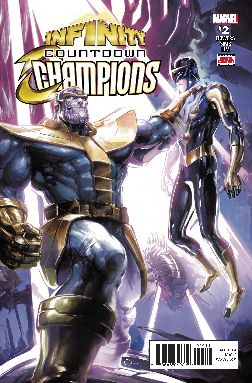 INFINITY COUNTDOWN CHAMPIONS #2 (OF 2)