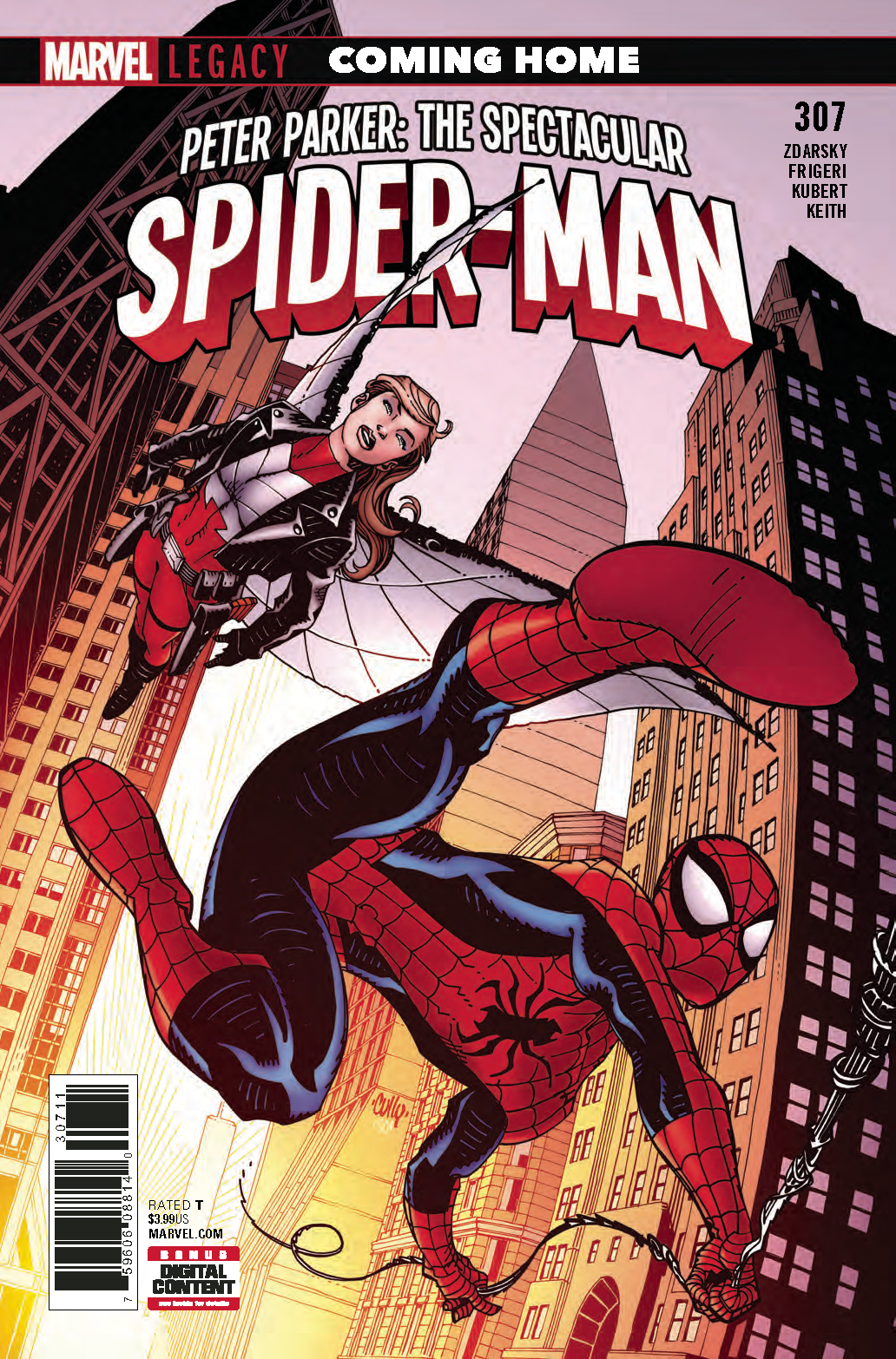 PETER PARKER SPECTACULAR SPIDER-MAN #307