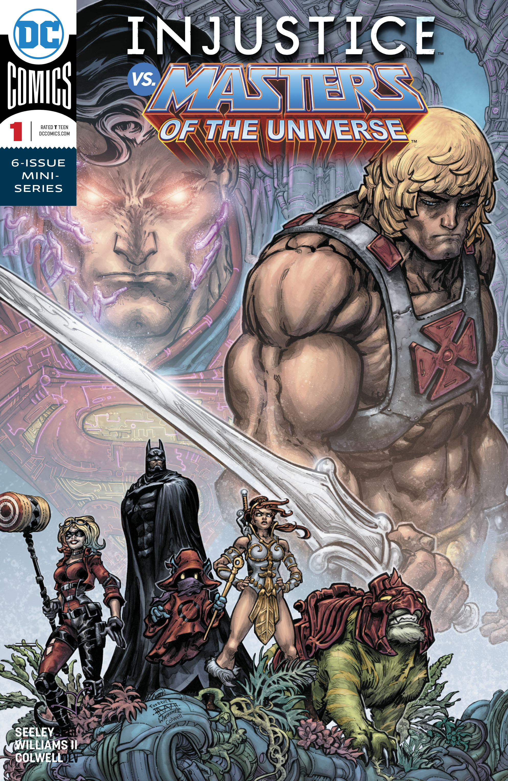 INJUSTICE VS THE MASTERS OF THE UNIVERSE #1 (OF 6)