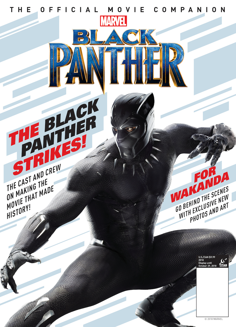 BLACK PANTHER OFFICIAL MOVIE COMPANION NS MAGAZINE