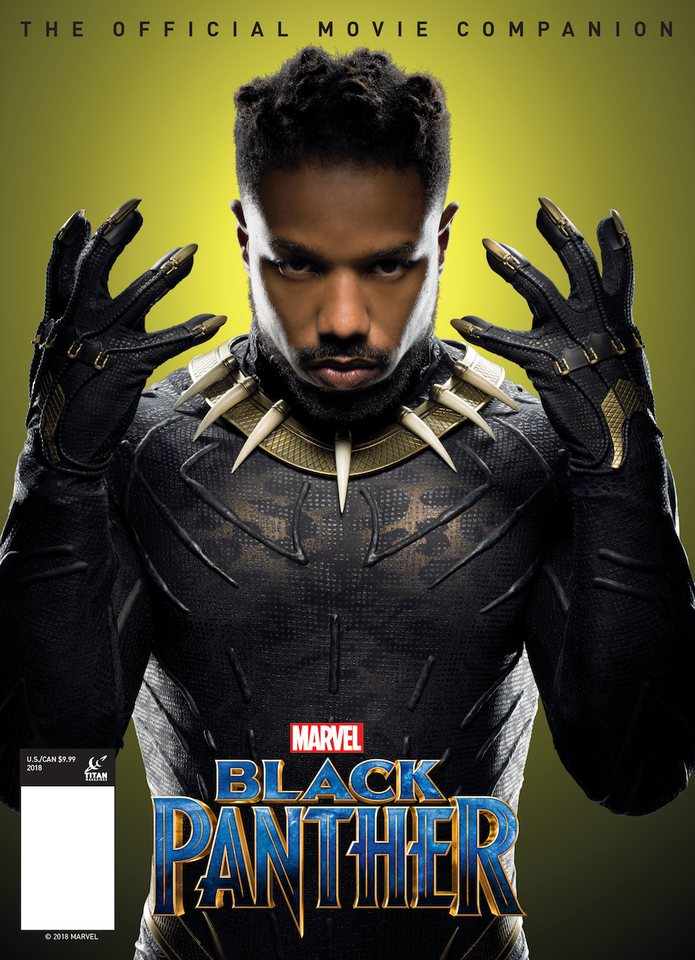 BLACK PANTHER OFFICIAL MOVIE COMPANION PX MAGAZINE