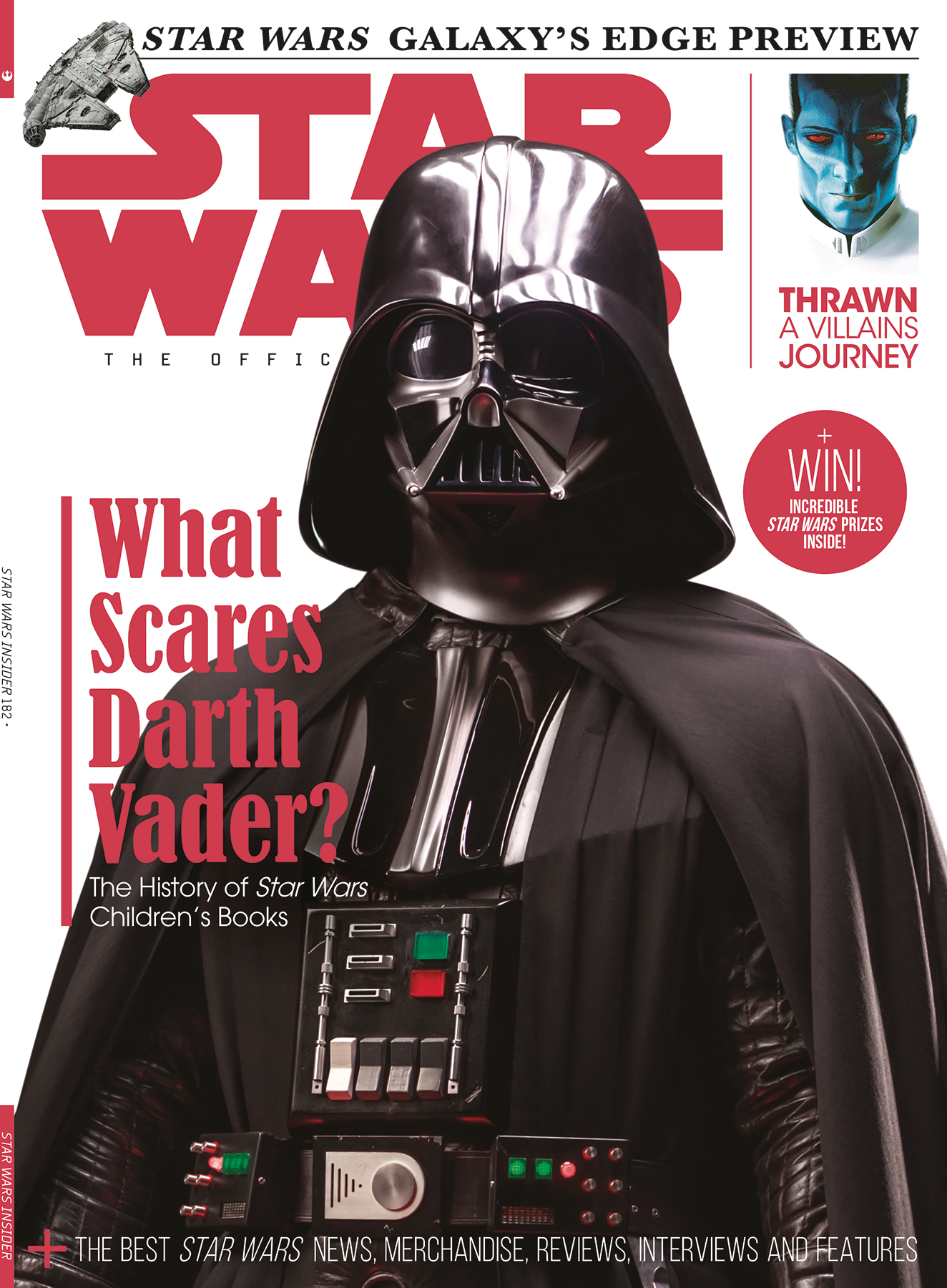 STAR WARS INSIDER #182 NEWSSTAND ED
