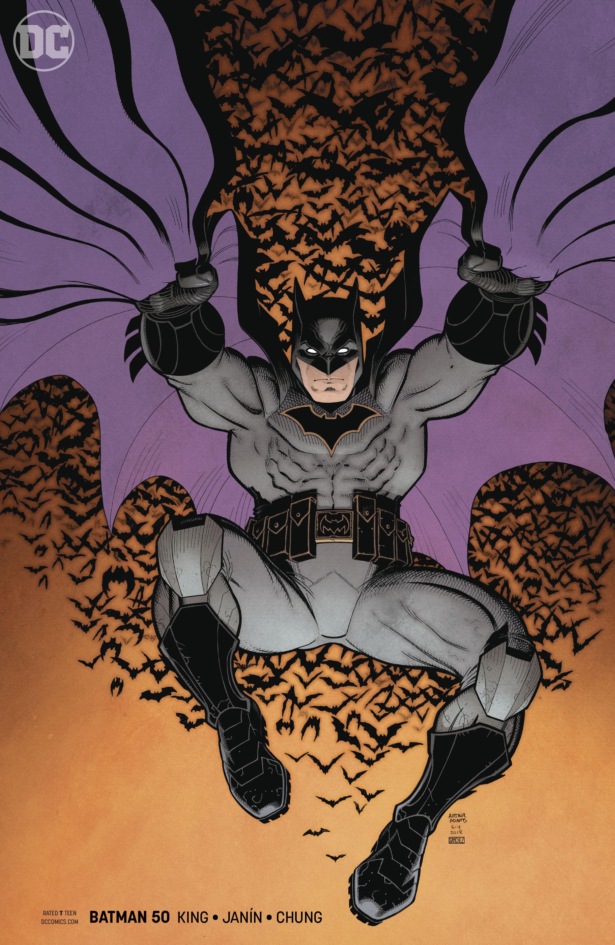 BATMAN #50 COIPEL VAR ED