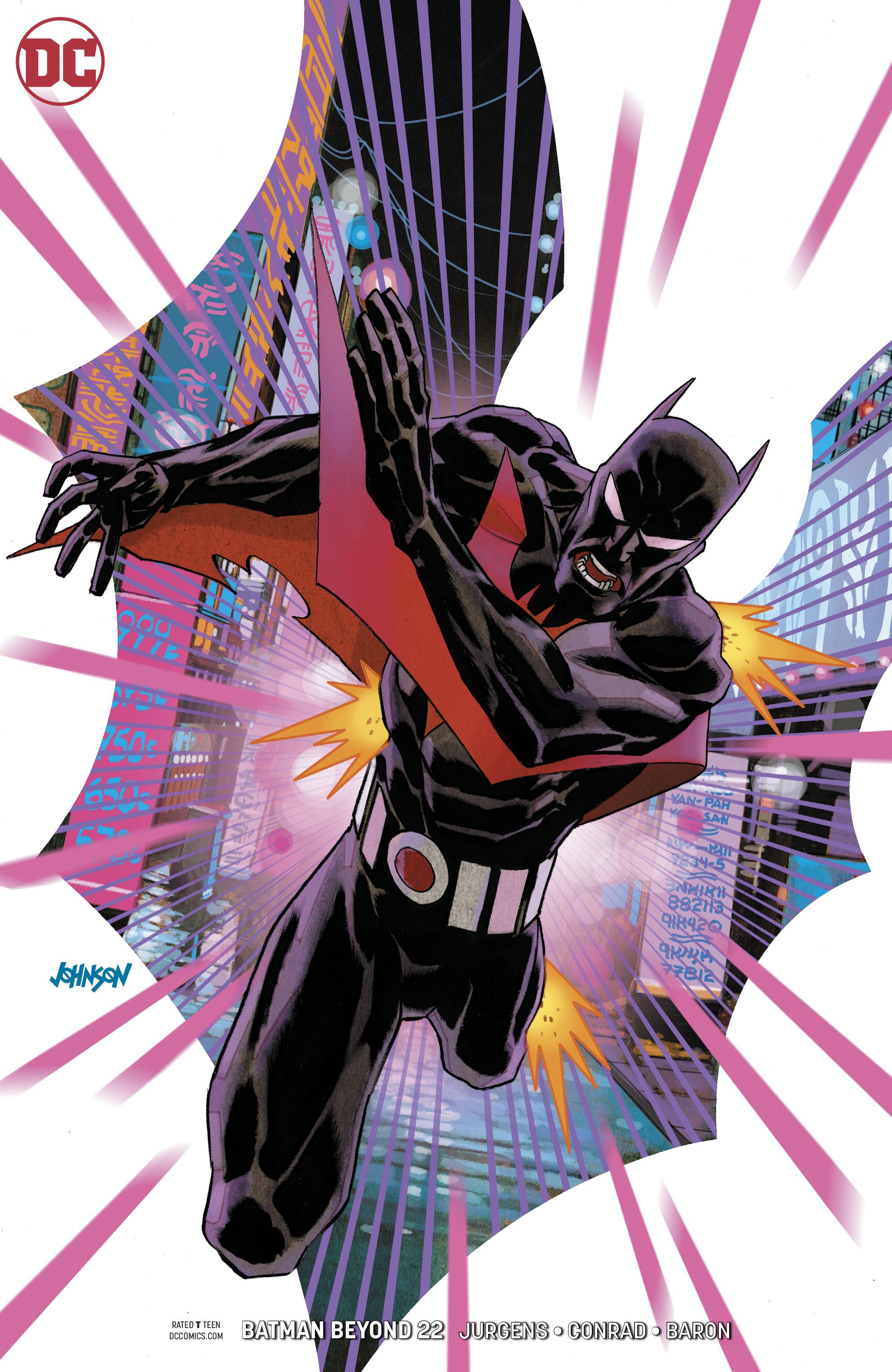 BATMAN BEYOND #22 VAR ED