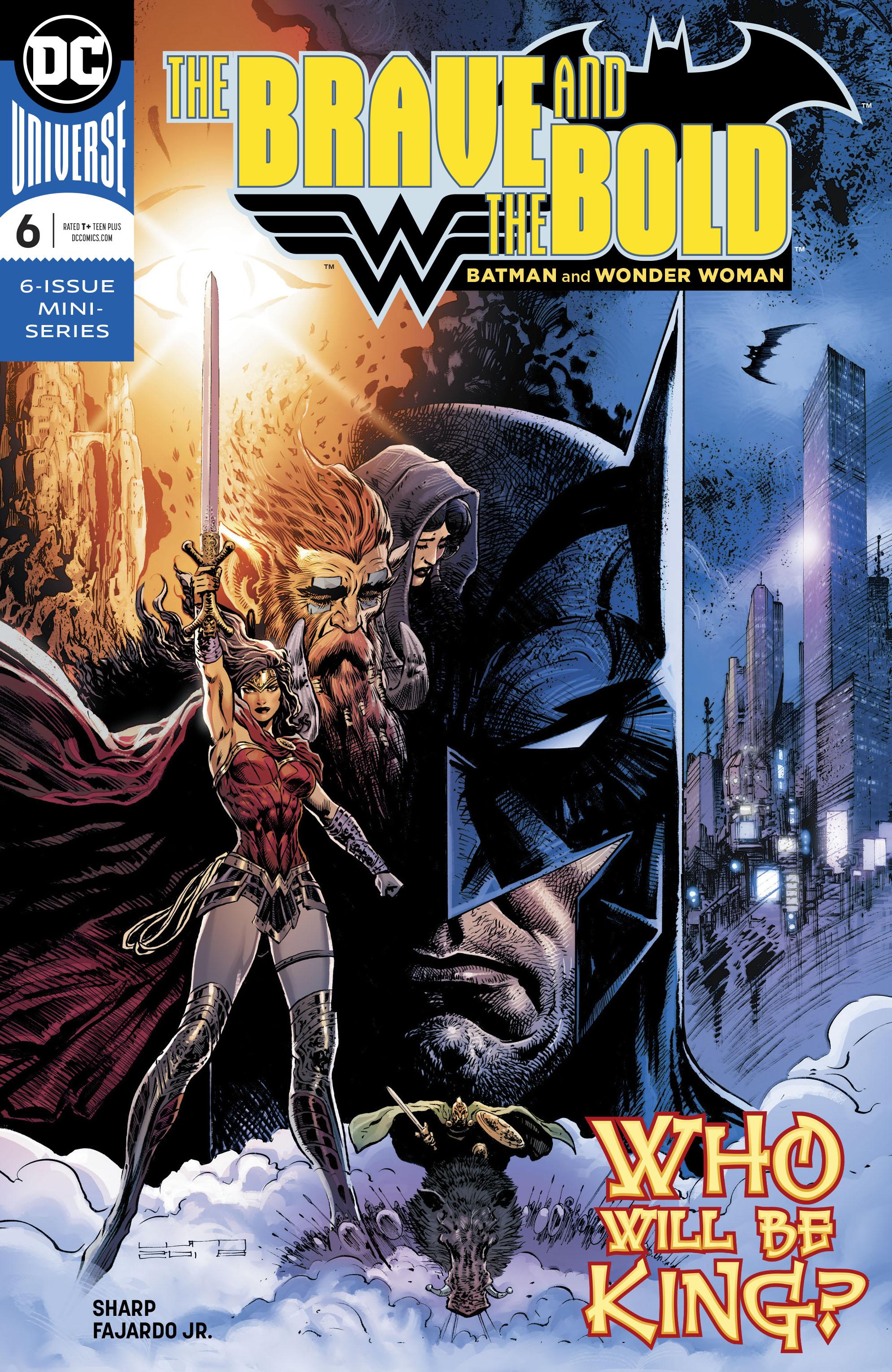 BRAVE & THE BOLD BATMAN & WONDER WOMAN #6