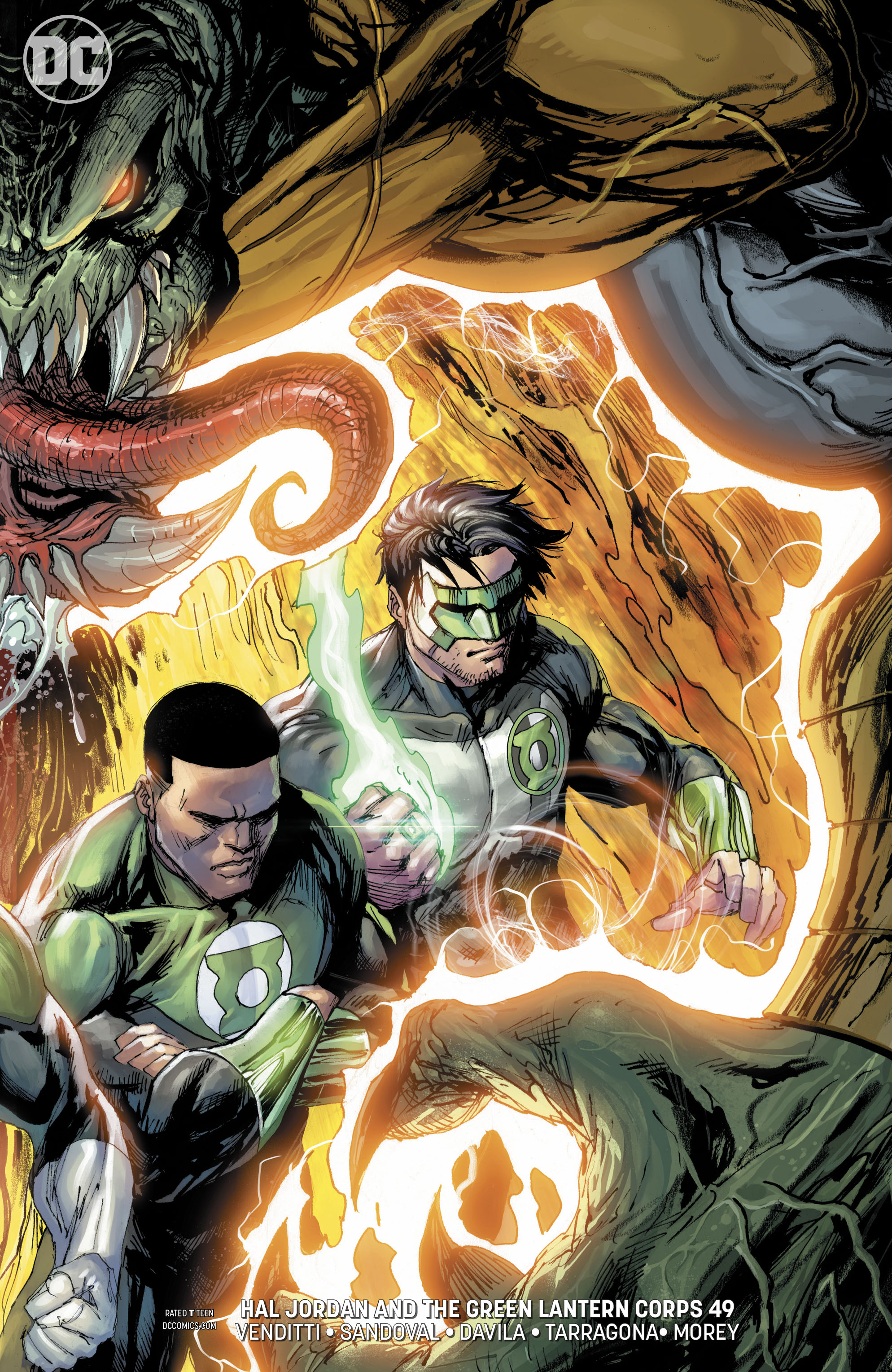 HAL JORDAN AND THE GREEN LANTERN CORPS #49 VAR ED