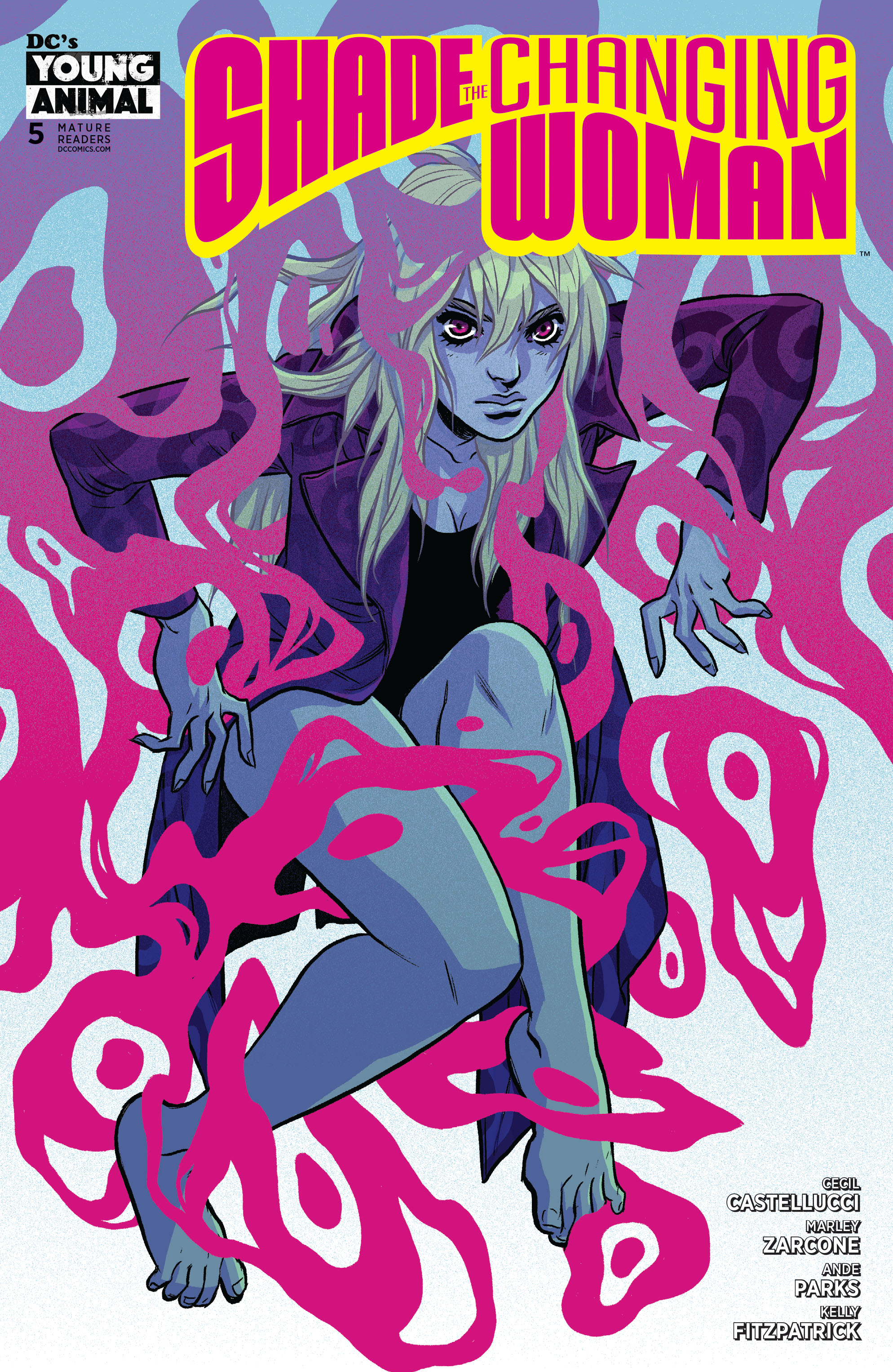 SHADE THE CHANGING WOMAN #5 (OF 6)