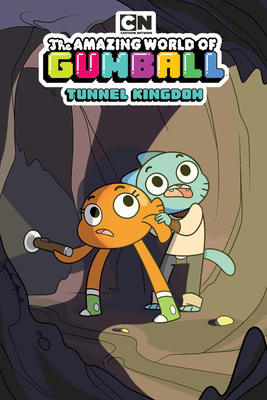 AMAZING WORLD GUMBALL ORIGINAL GN VOL 05 TUNNEL KINGDOM