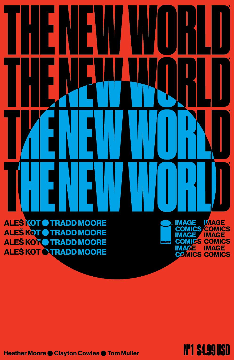 NEW WORLD #1 (OF 5) CVR D MULLER
