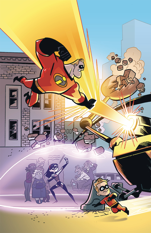 DISNEY PIXAR INCREDIBLES 2 #1 CRISIS MIDLIFE & STORIES CVR B