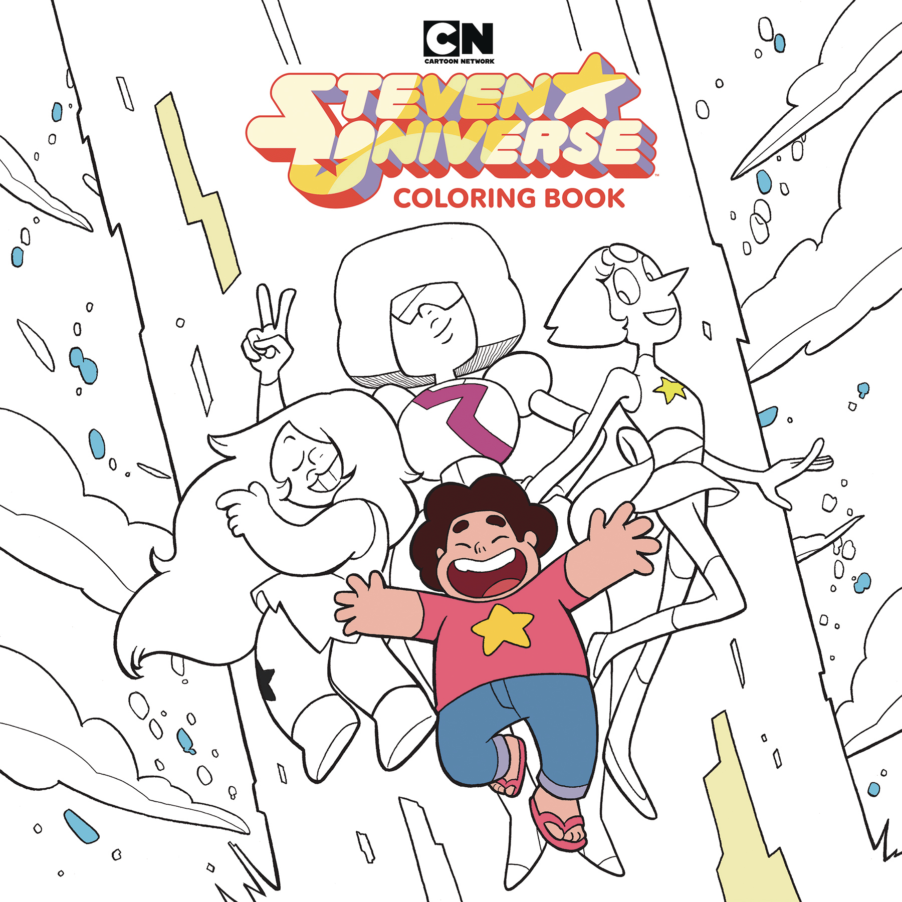 STEVEN UNIVERSE ADULT COLORING BOOK TP VOL 01