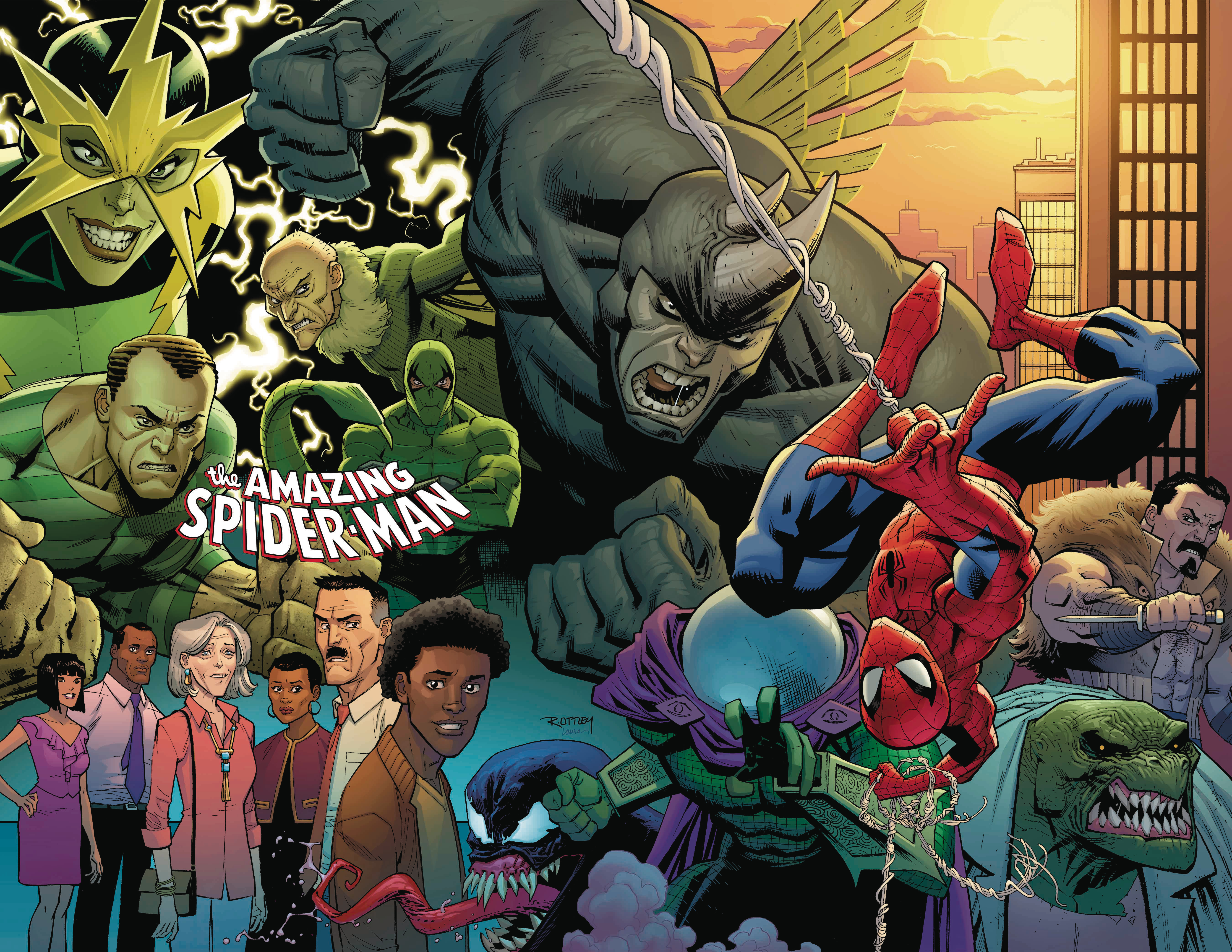 AMAZING SPIDER-MAN #1 OTTLEY VIRGIN VAR